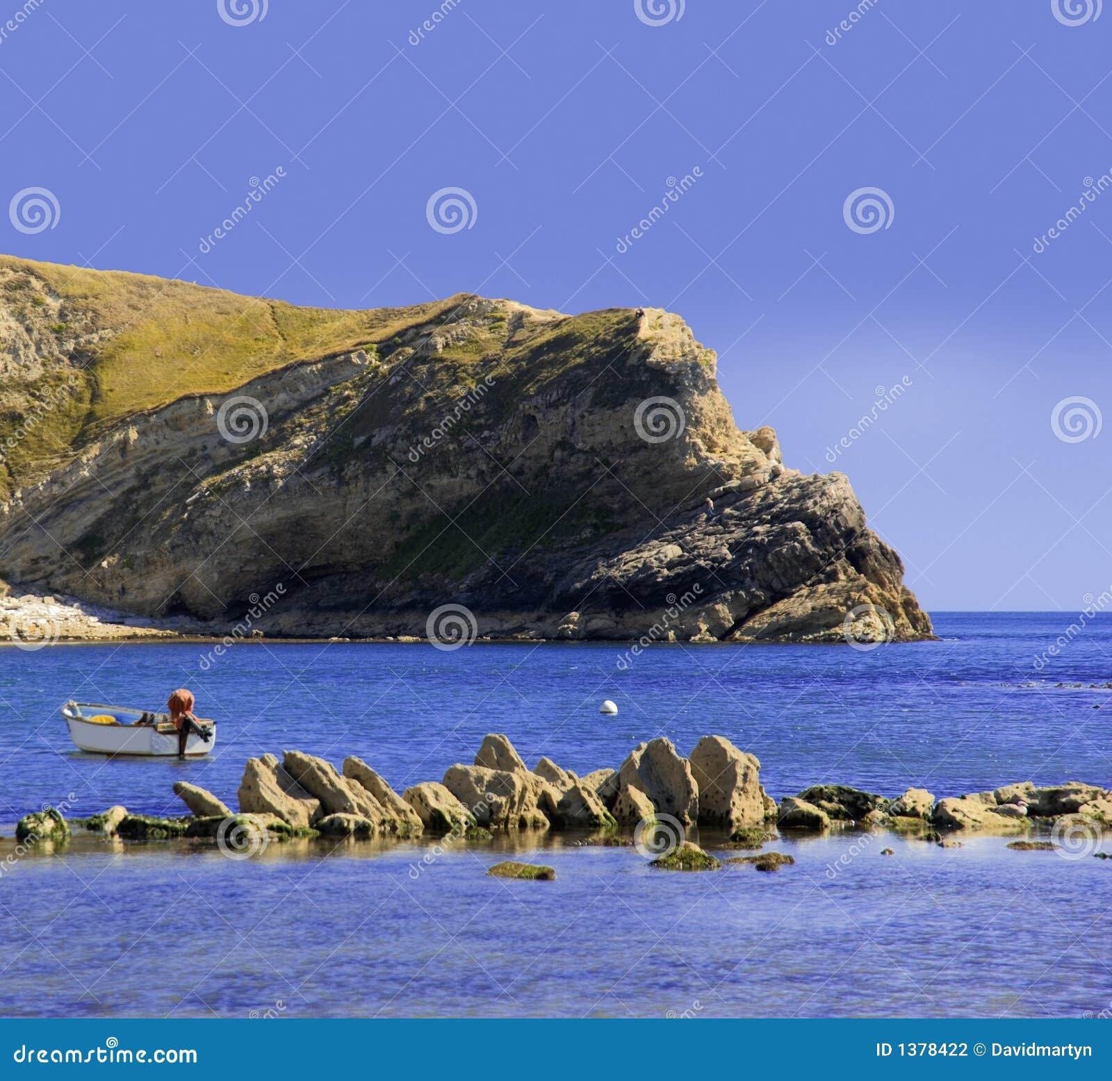 όρμος Dorset ακτών lulworth