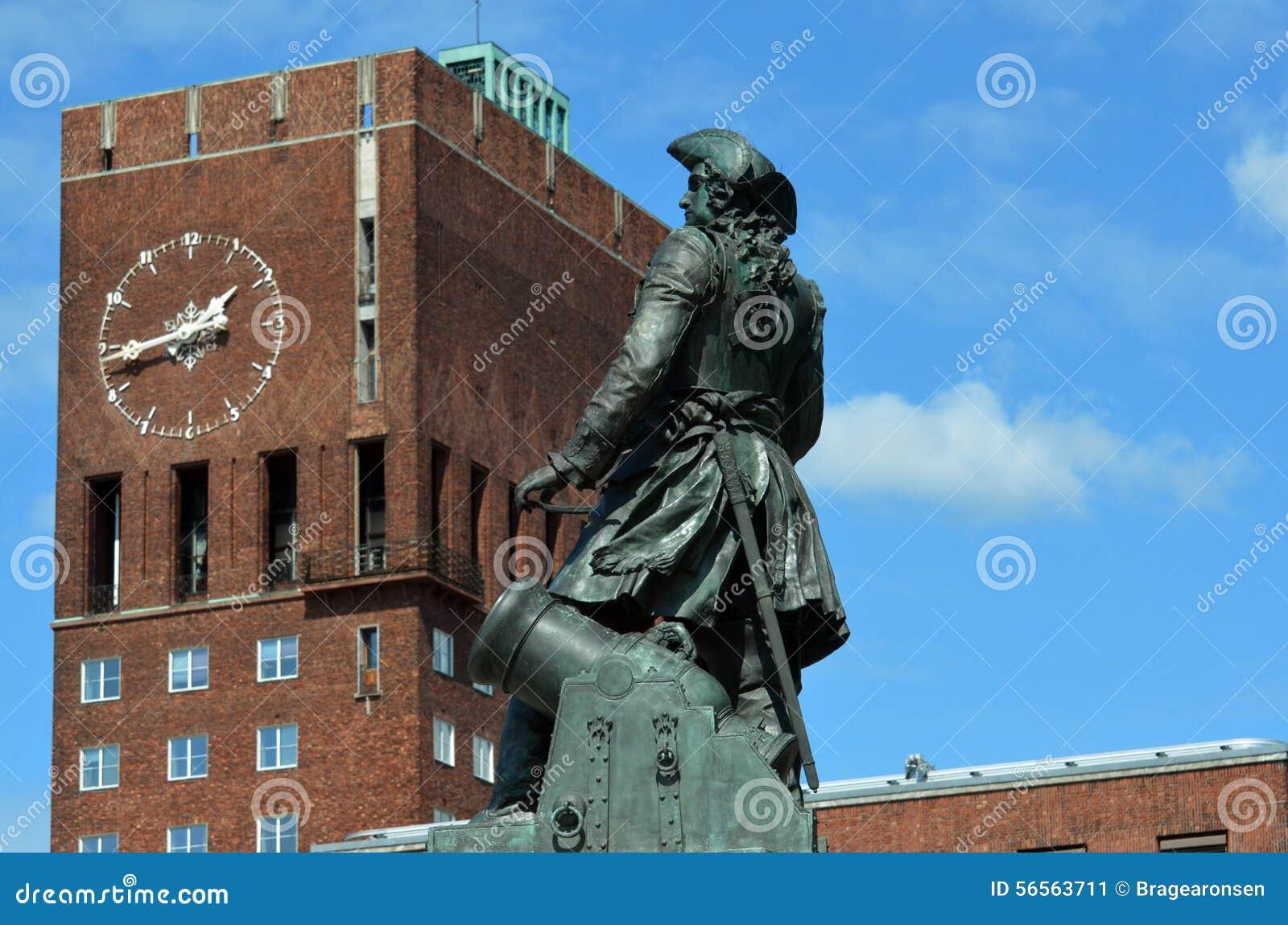 Download Όσλο Δημαρχείο (Όσλο RÃ¥dhus) Στοκ Εικόνα - εικόνα από κυβέρνηση, αρχιτεκτονικής: 56563711