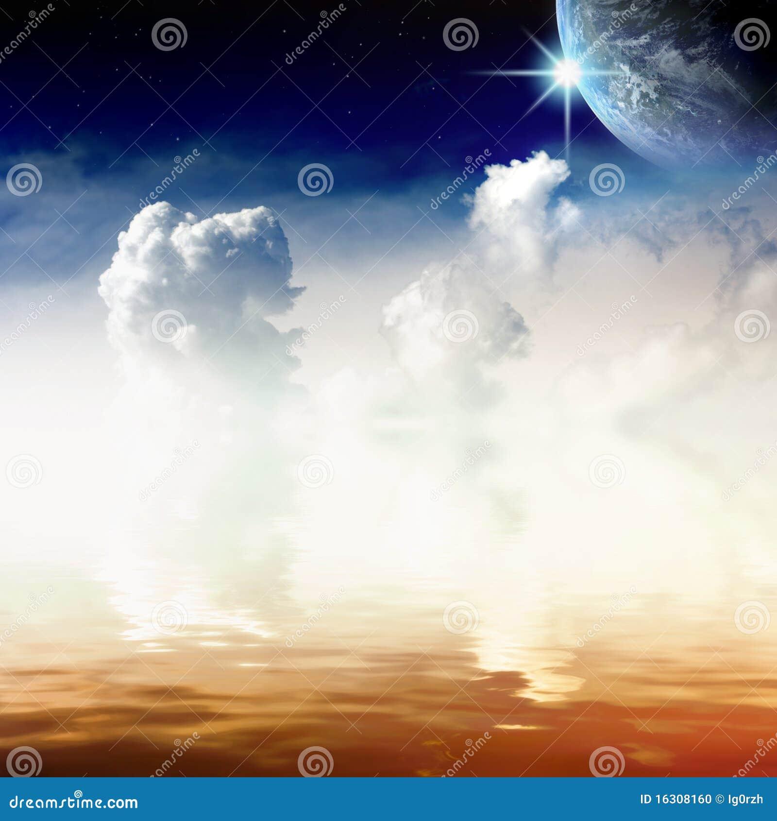 όψη ουρανού