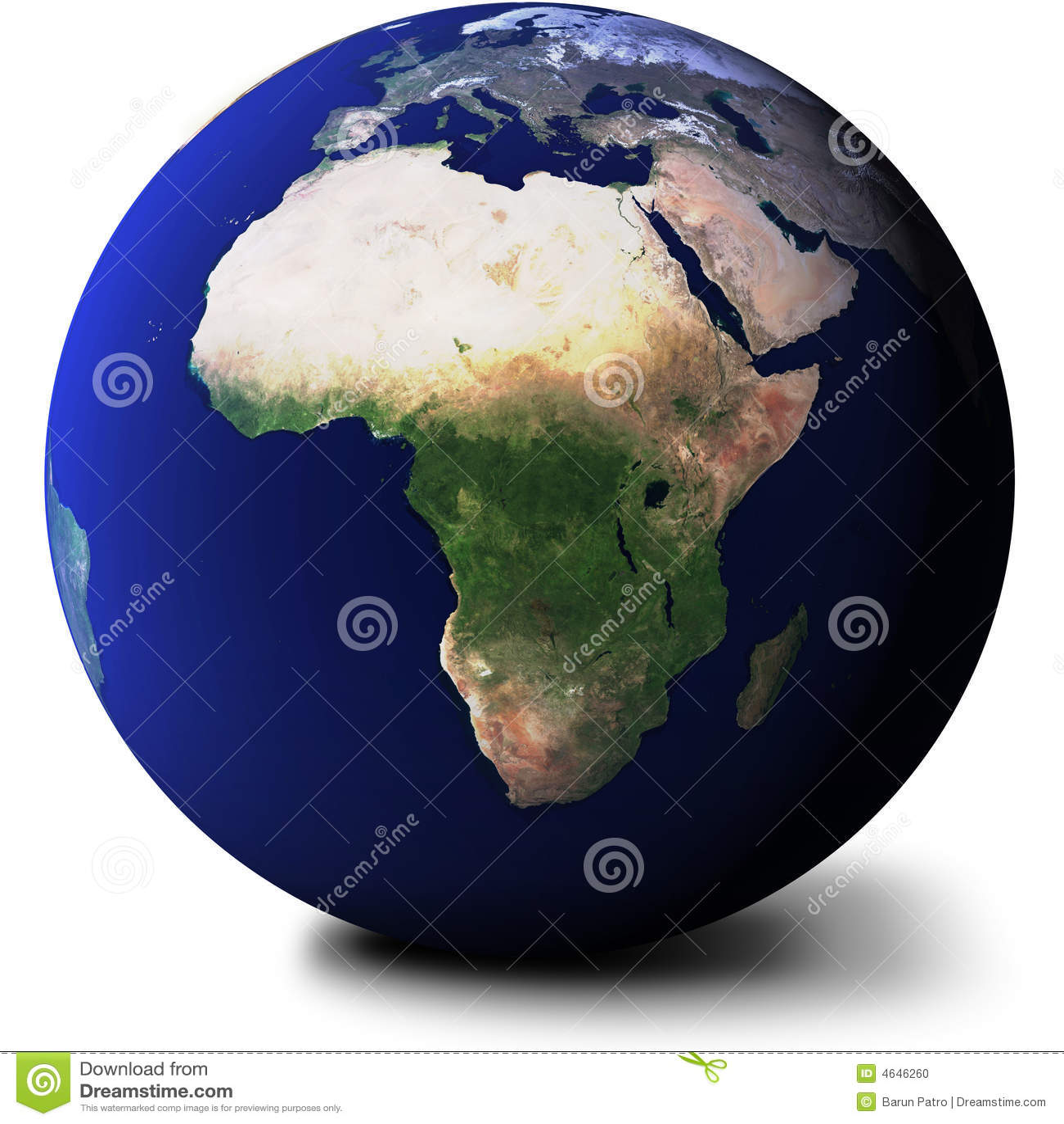 όψη σφαιρών της Αφρικής