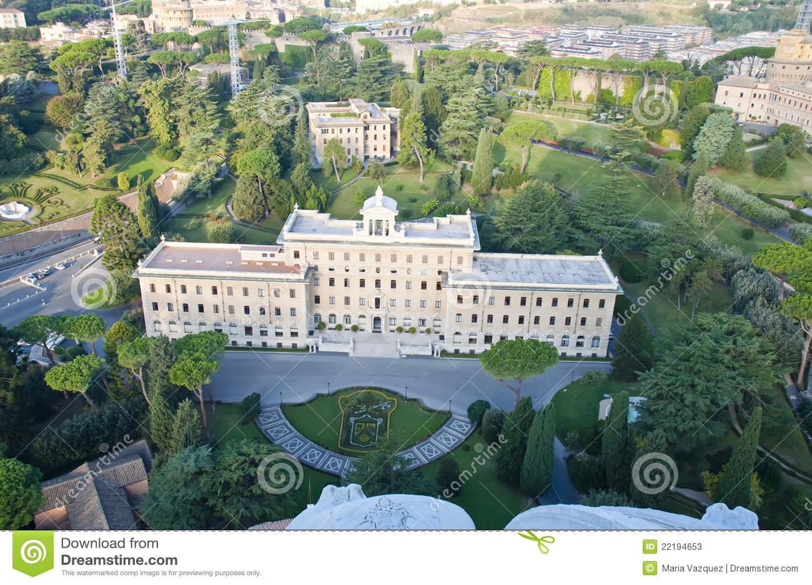 όψη της Ρώμης Βατικανό κατο&io