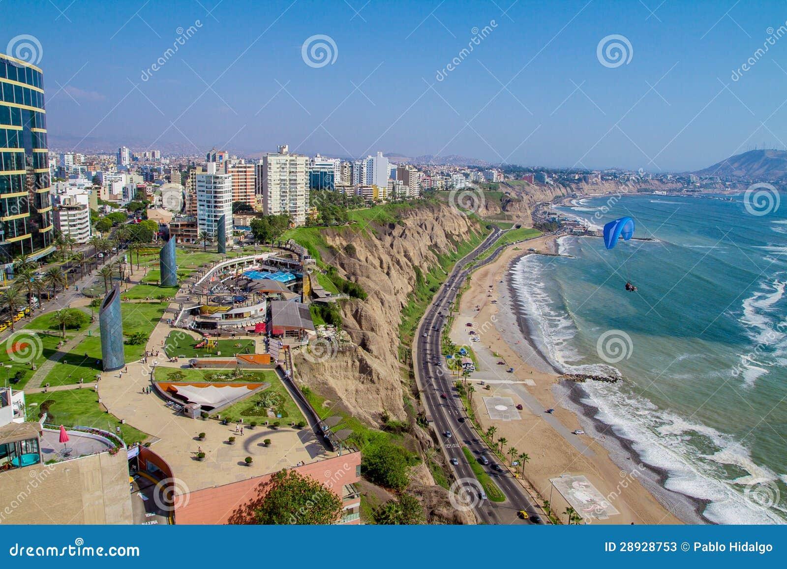 Όψη Miraflores του πάρκου, Λίμα - Περού