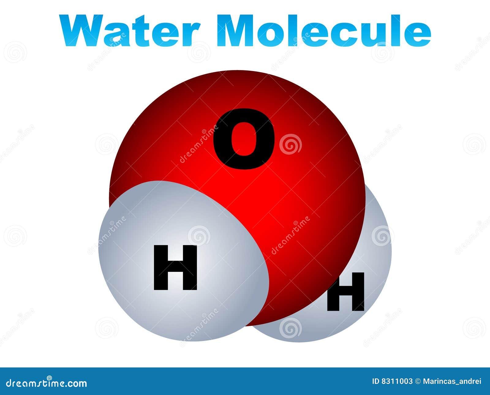 ύδωρ μορίων εικονιδίων