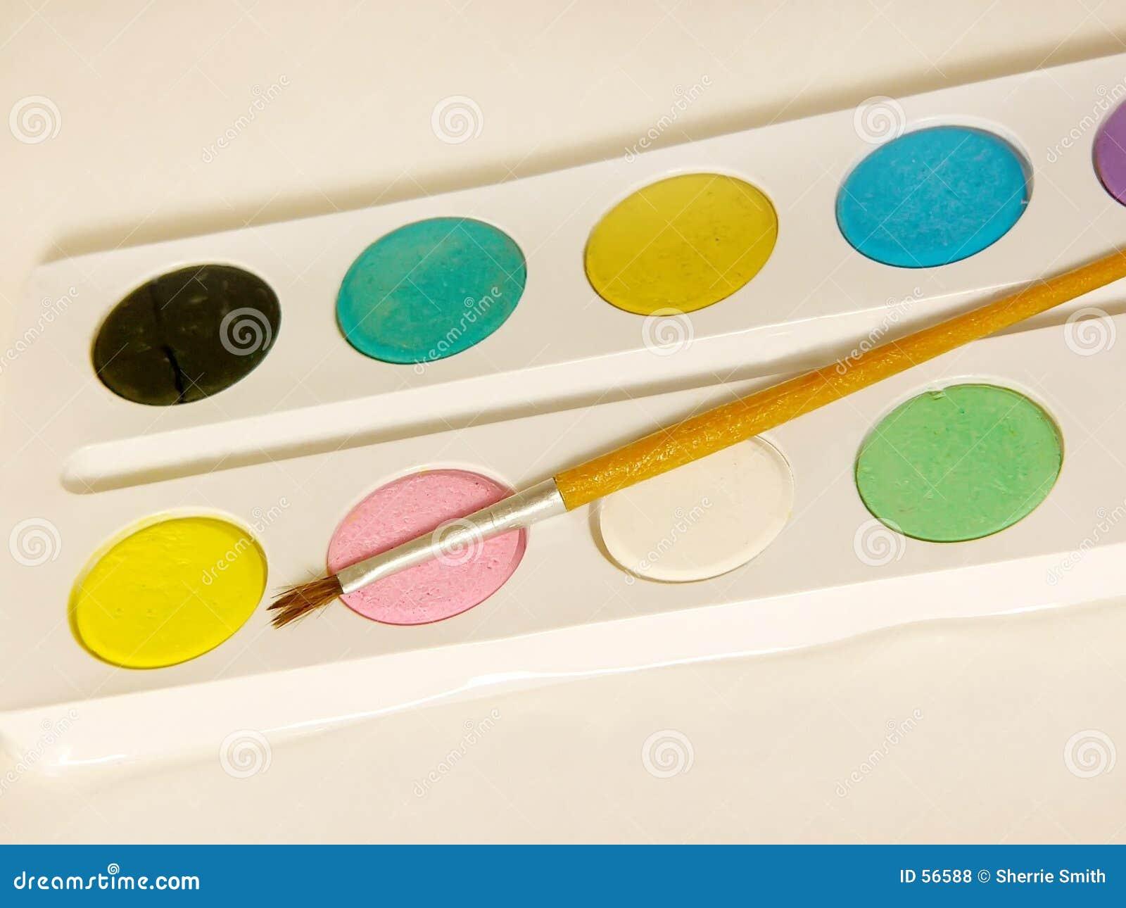 ύδωρ χρωμάτων