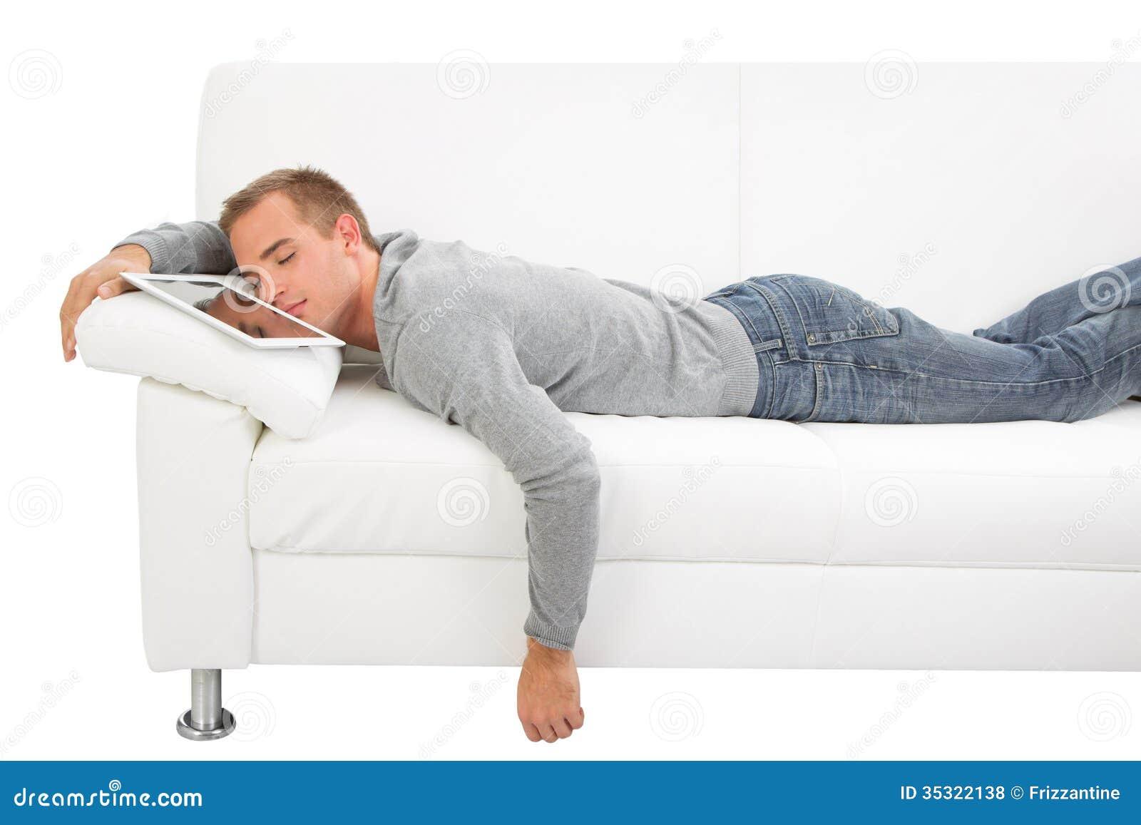 Ύπνος ατόμων με το PC ταμπλετών