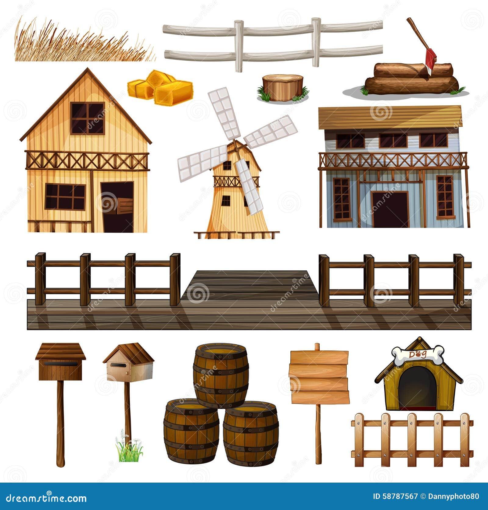 Ύφος επαρχίας των κτηρίων και άλλων αντικειμένων