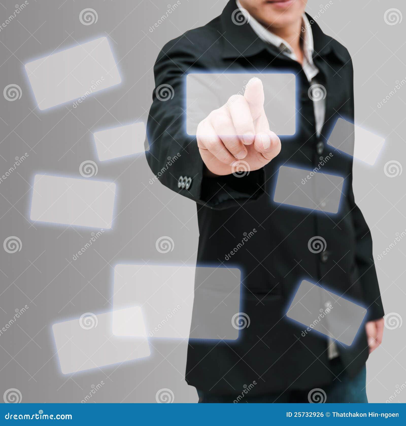 ώθηση ατόμων χεριών