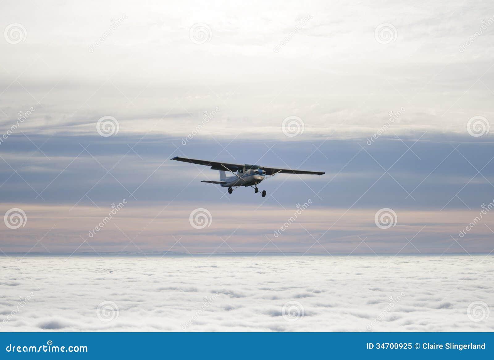 小飞机 免版税库存照片