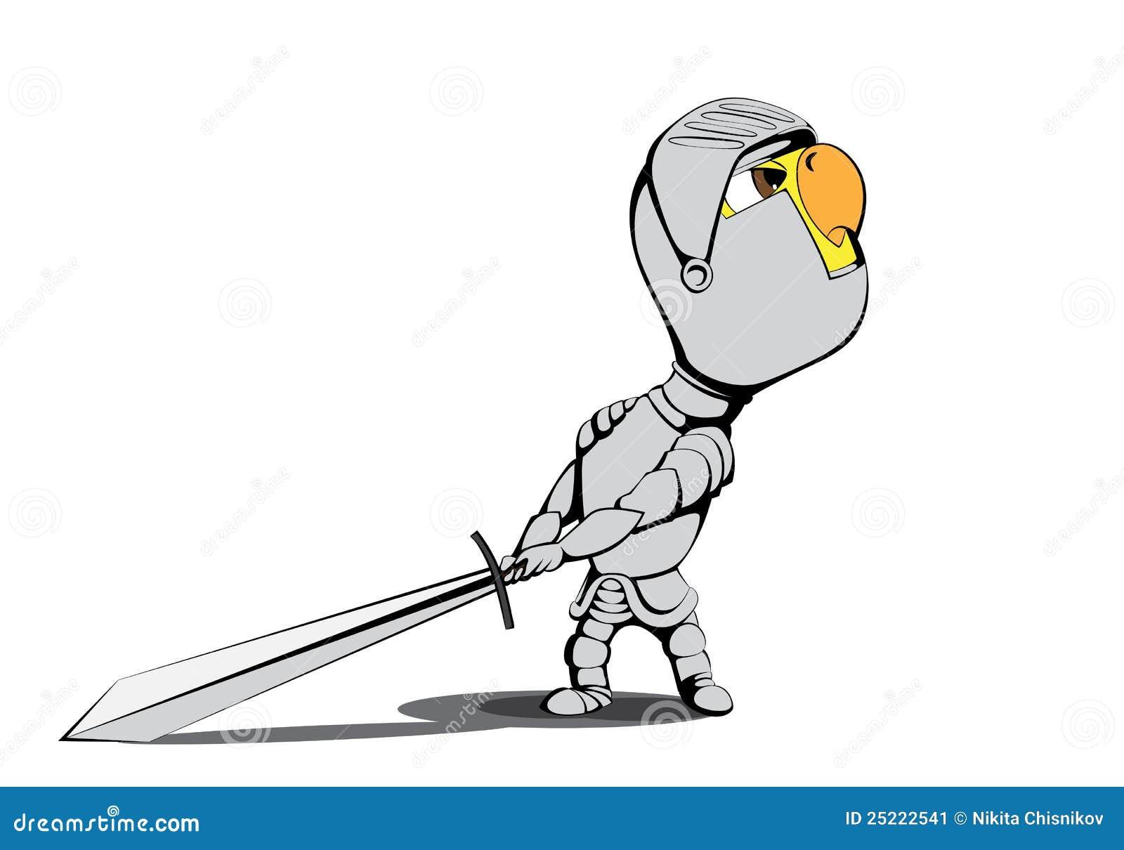 小鸡骑士 库存图片 - 图片