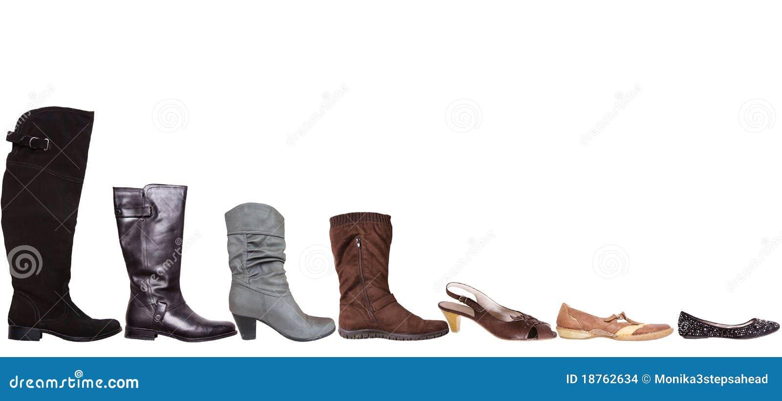 鞋子步骤 库存图片 - 图片