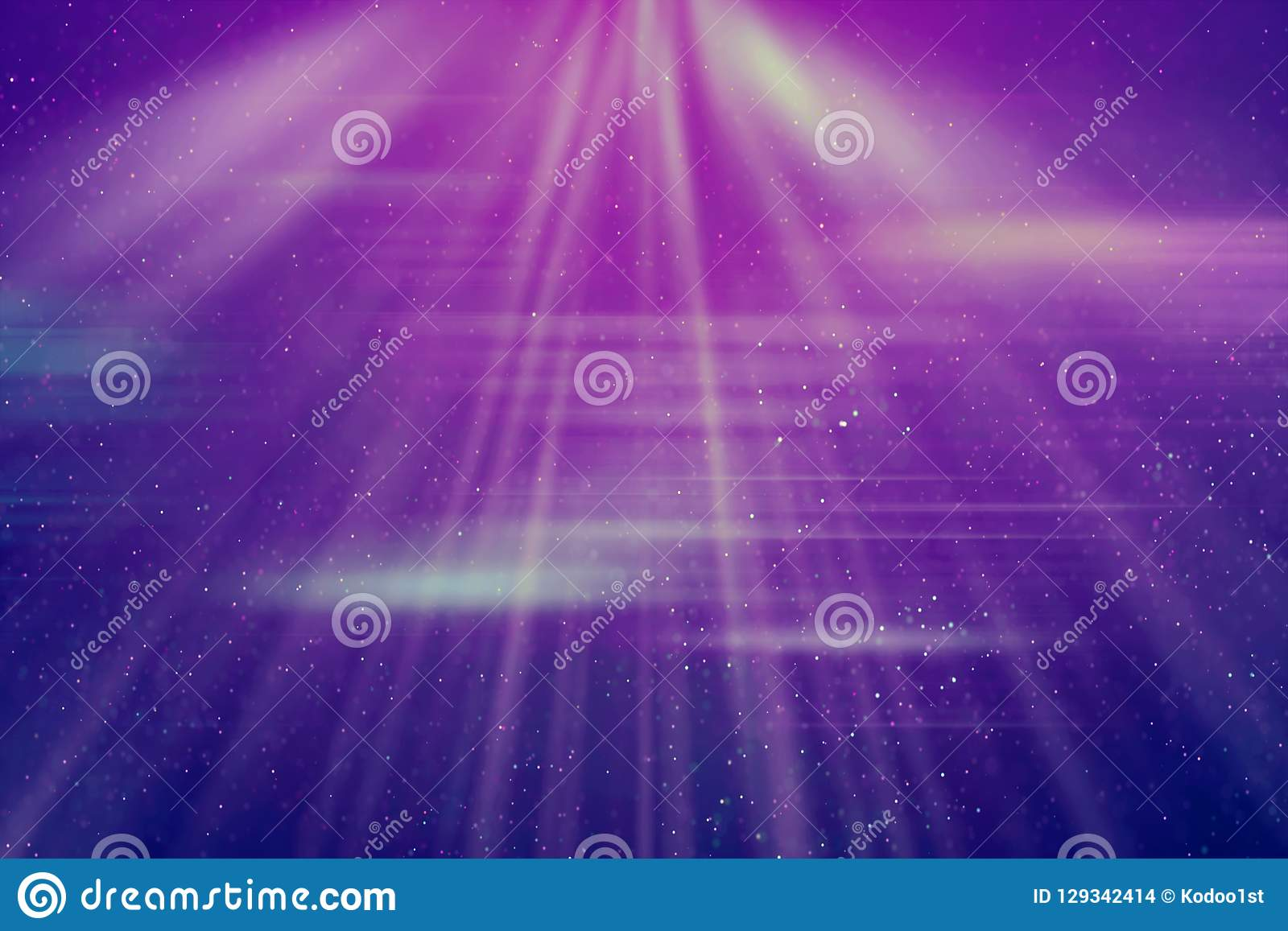 Абстрактная винтажная предпосылка световых лучей