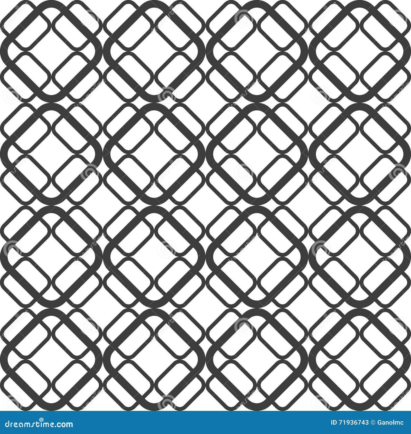 Абстрактная геометрическая безшовная картина предпосылки