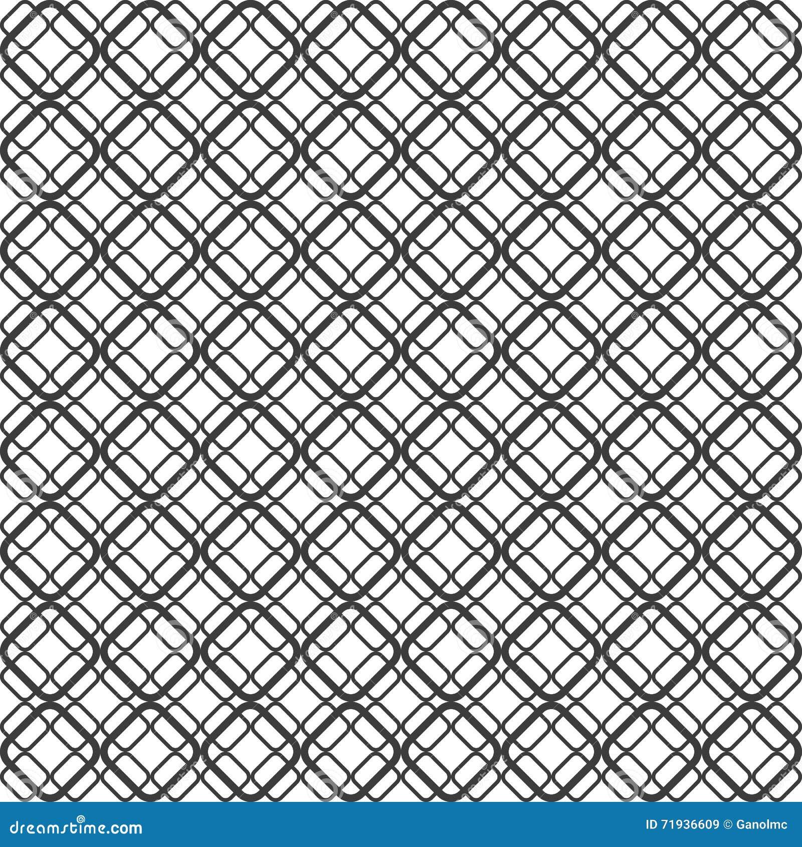 Абстрактная геометрическая безшовная картина предпосылки Illustrat вектора