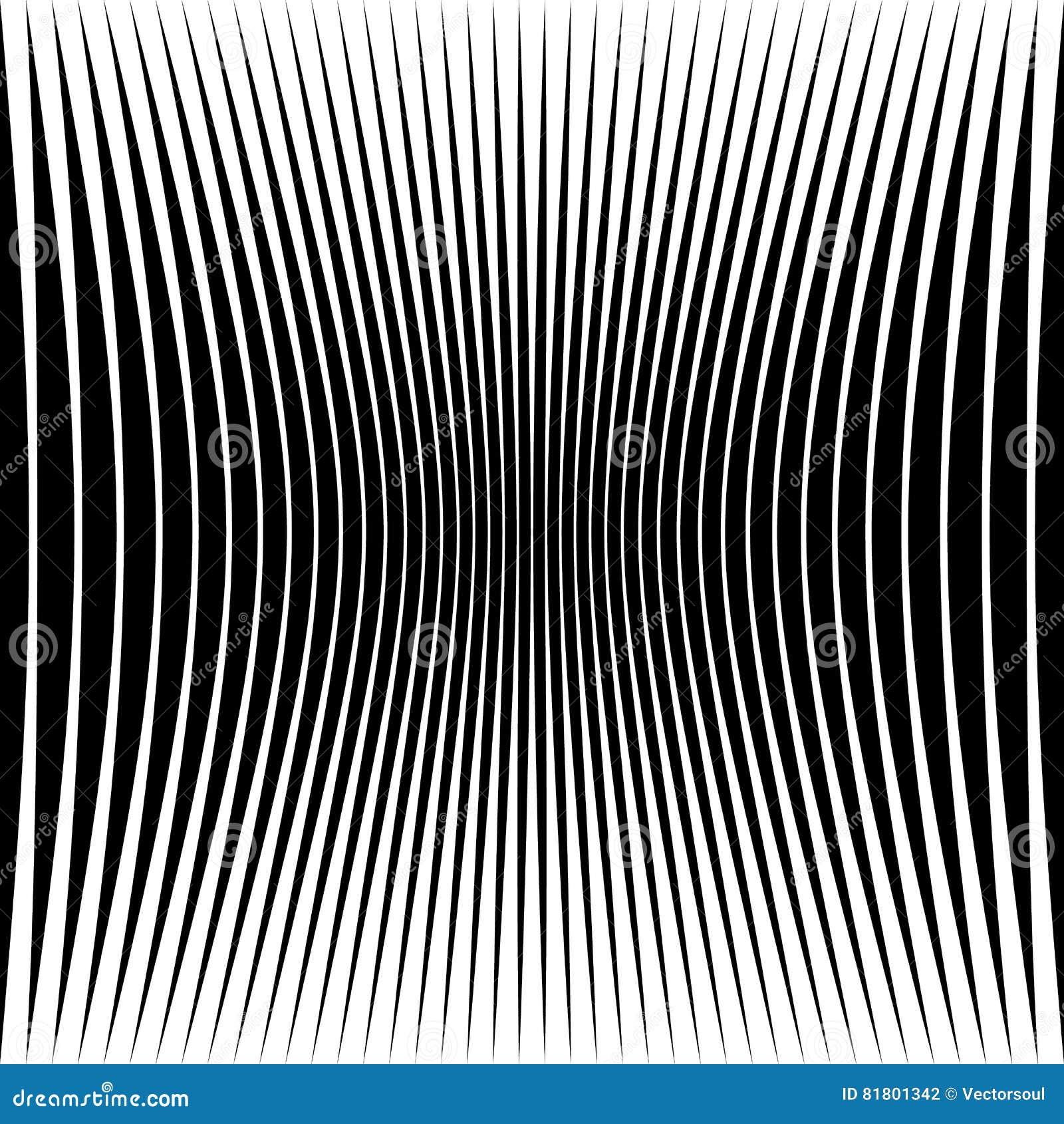 Абстрактная геометрическая картина с сжимать-обжатым искажением e