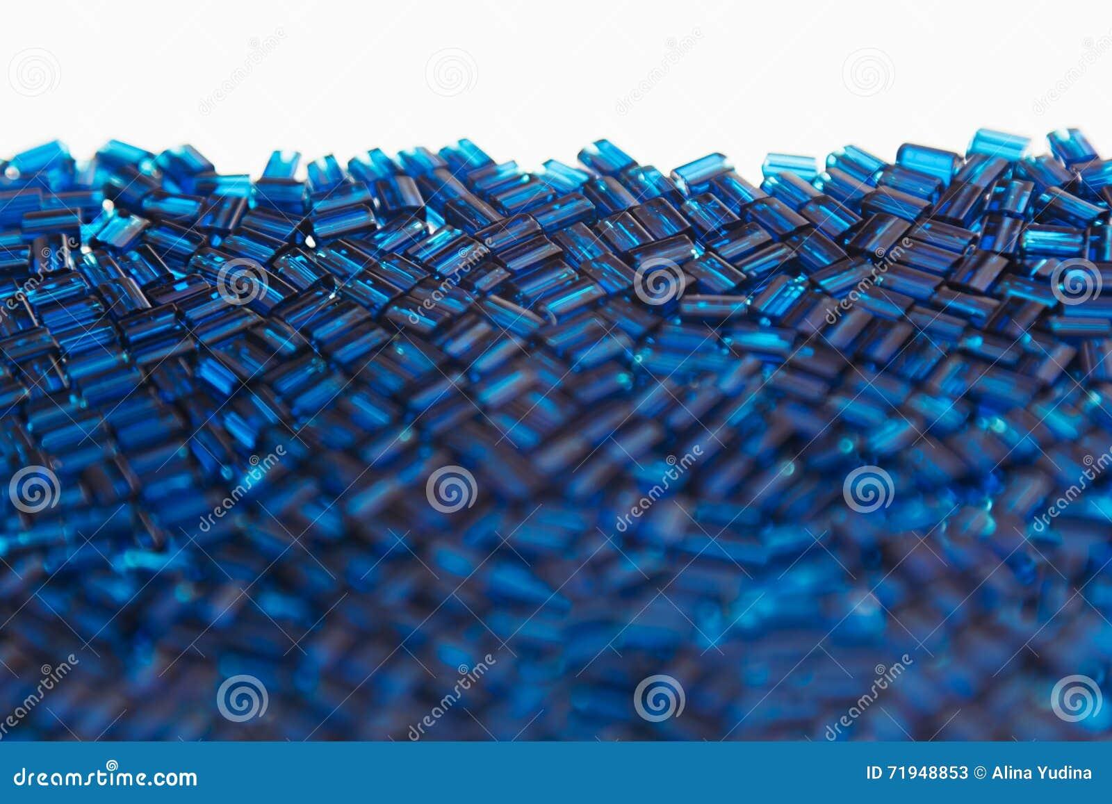 Абстрактная голубая предпосылка с картиной мозаики