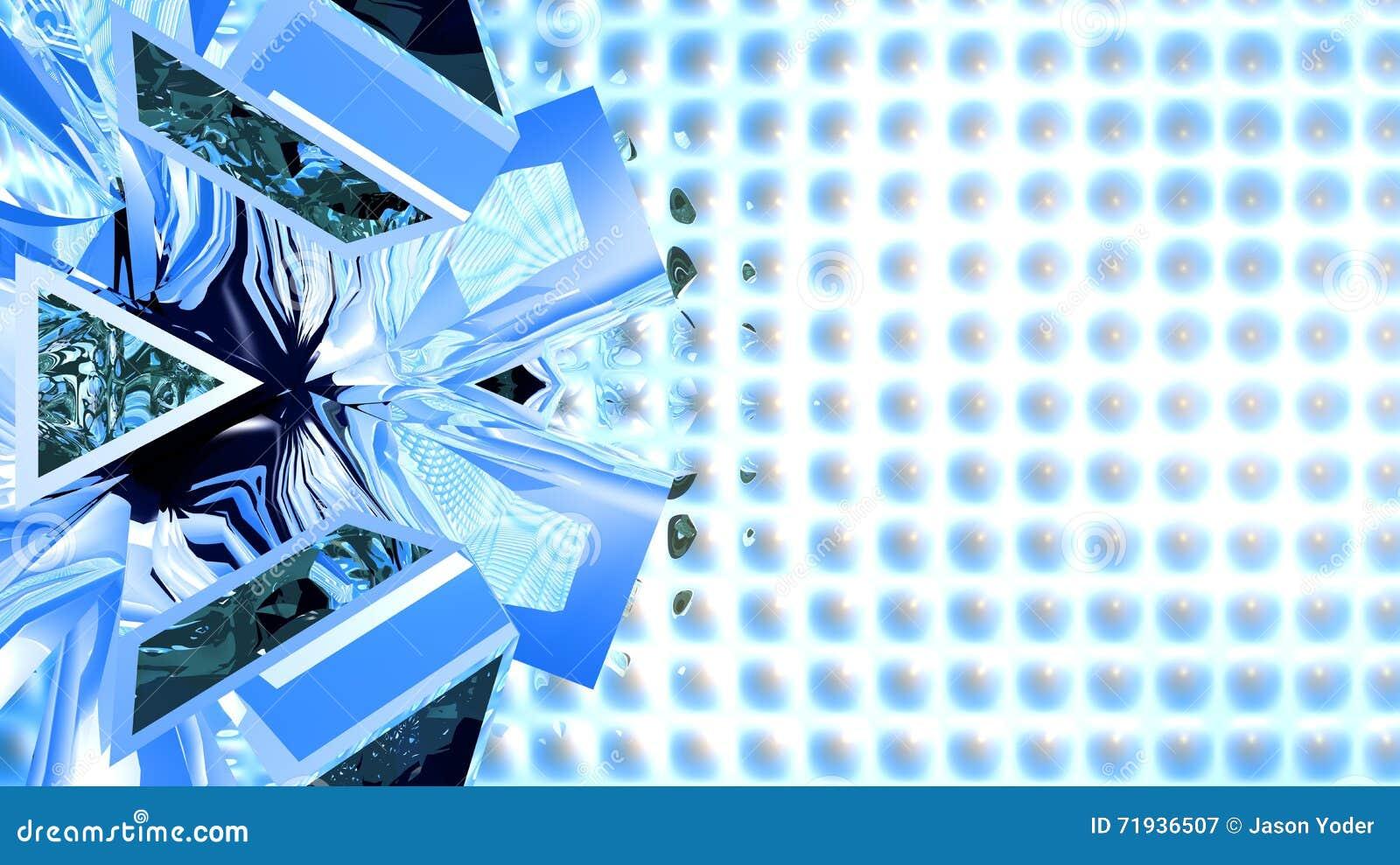 Абстрактная голубая предпосылка