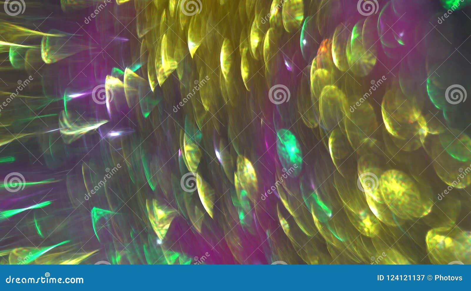 Абстрактная живая праздничная запачканная предпосылка bokeh Красочные светлые пятна