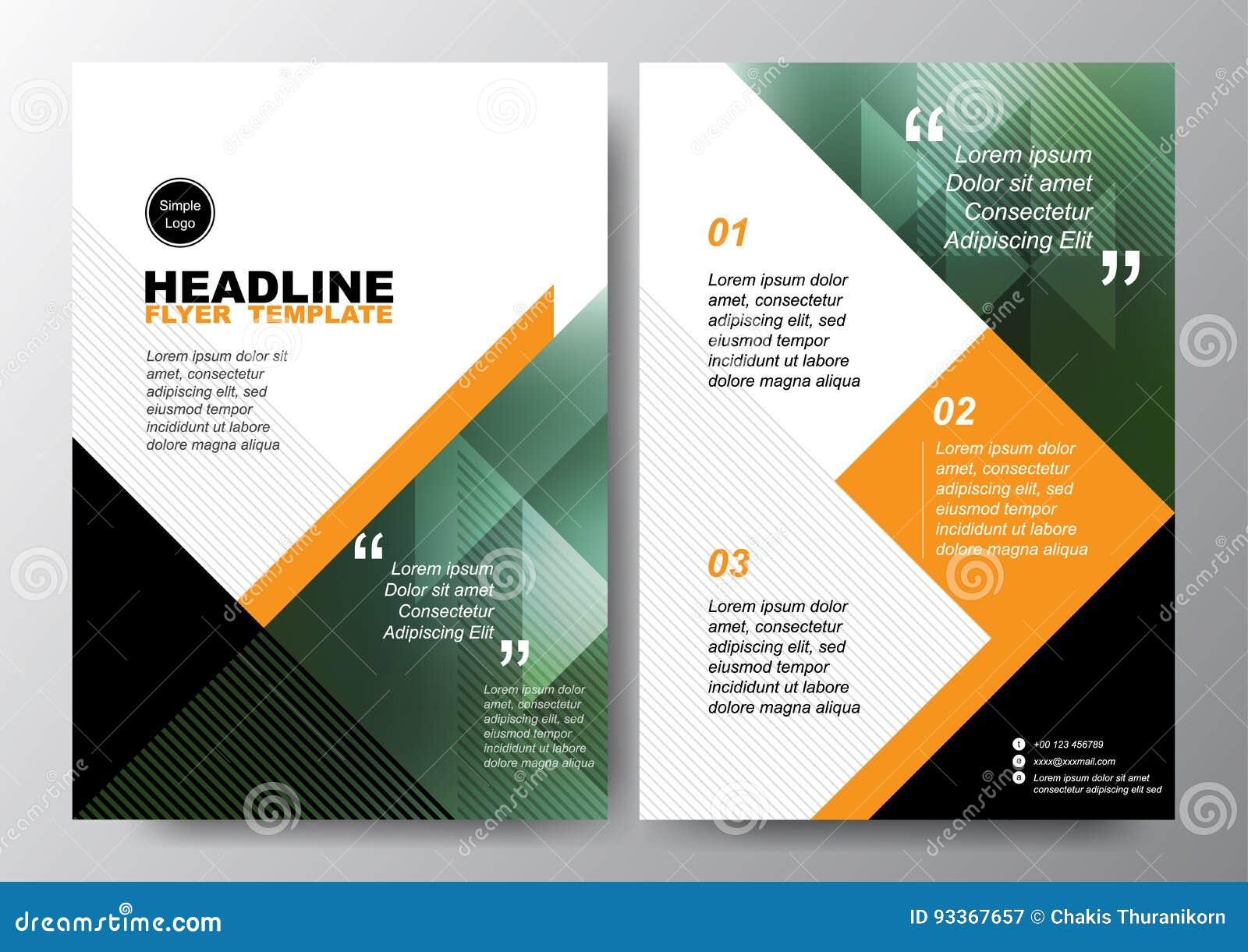 Абстрактная зеленая черная предпосылка треугольника для минимального шаблона вектора плана дизайна рогульки брошюры плаката в раз
