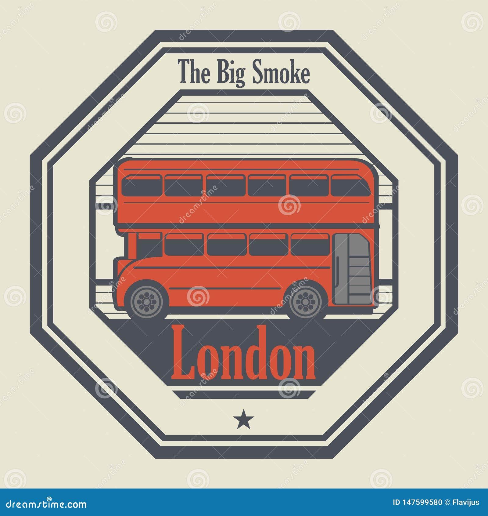 Абстрактная избитая фраза с Лондоном, Англией