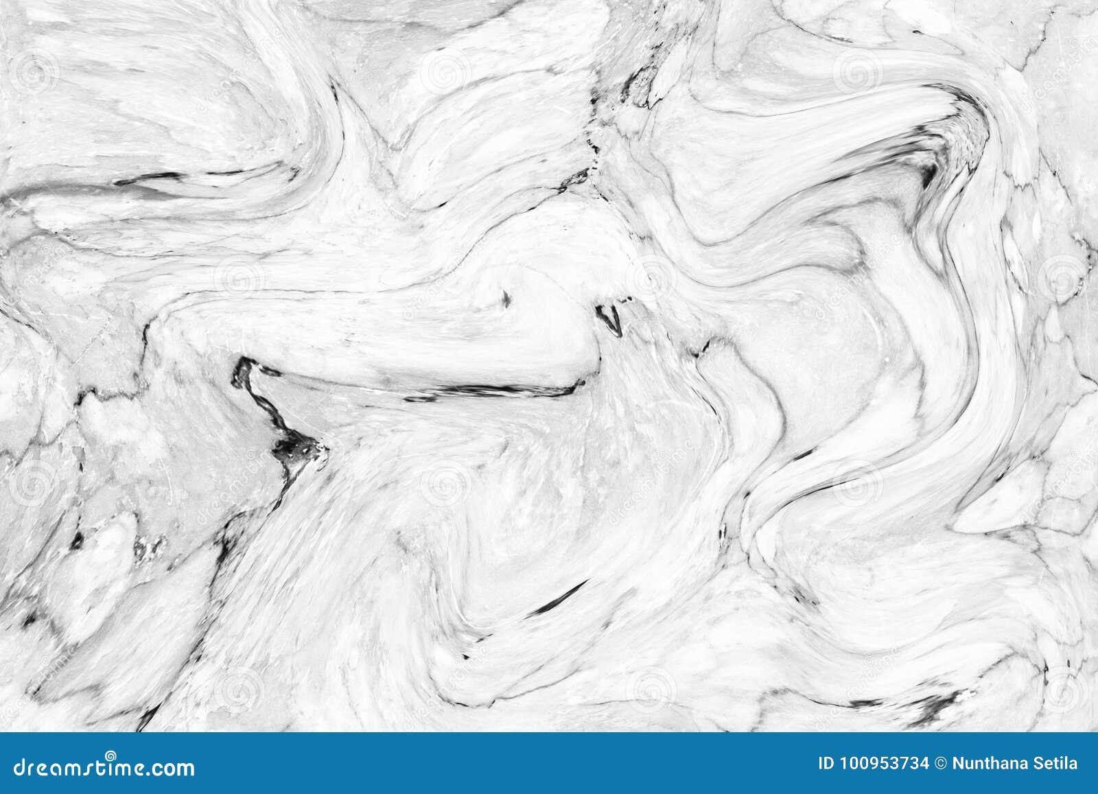 Абстрактная картина волны, белая серая мраморная предпосылка текстуры чернил для обоев или плитка стены кожи для дизайна интерьер