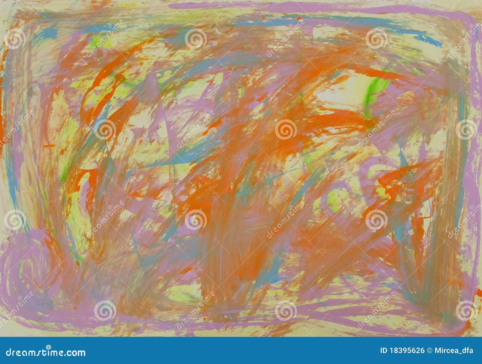 абстрактная картина