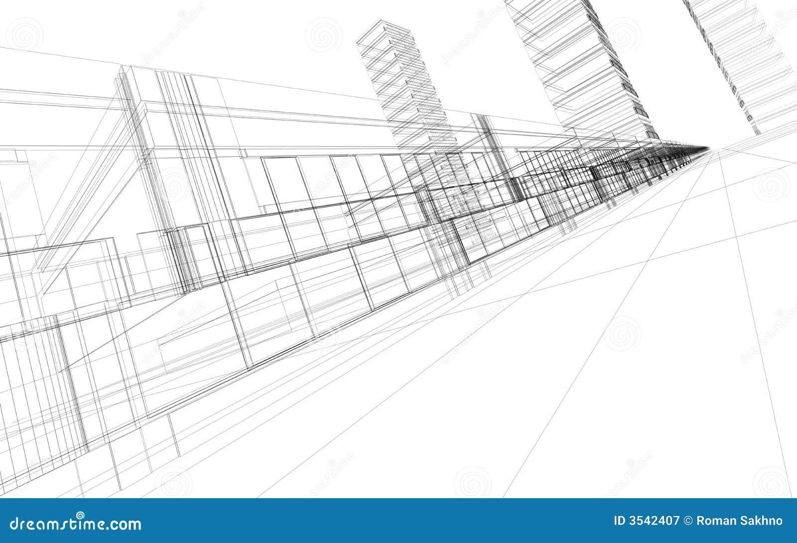 абстрактная конструкция 3d