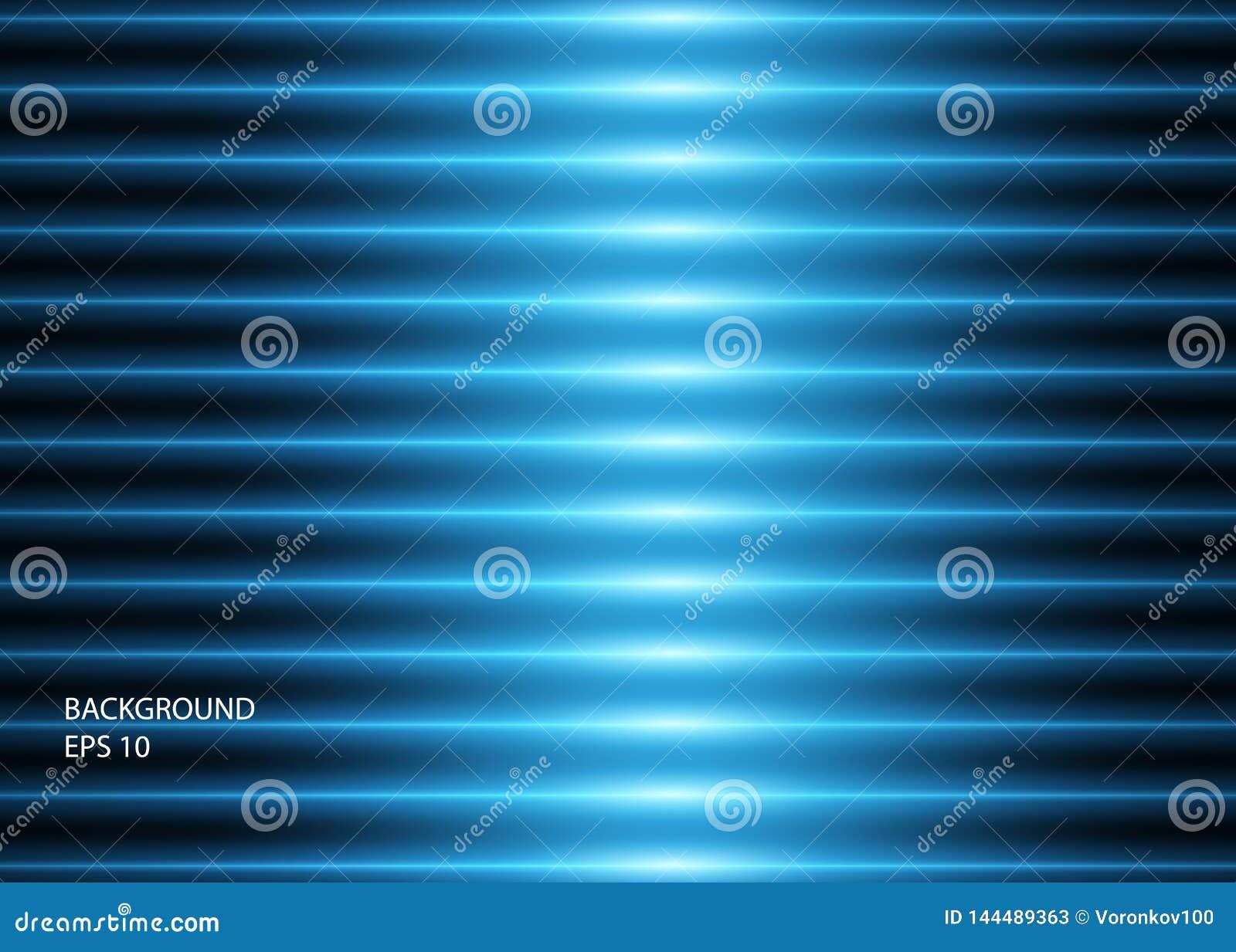 Абстрактная предпосылка голубых накаляя неоновых линий или светов r