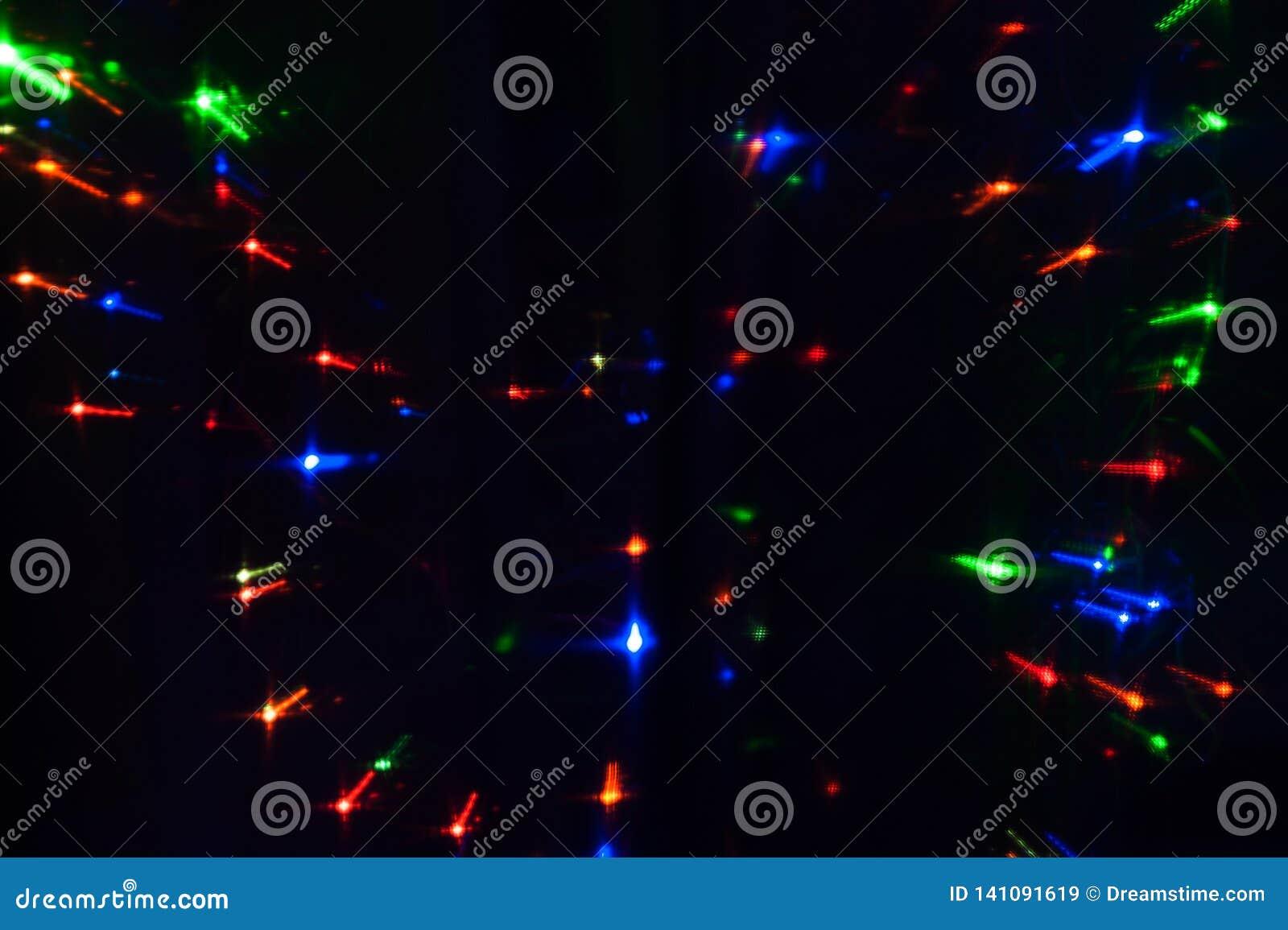 Абстрактная предпосылка запачканных varicolored светов