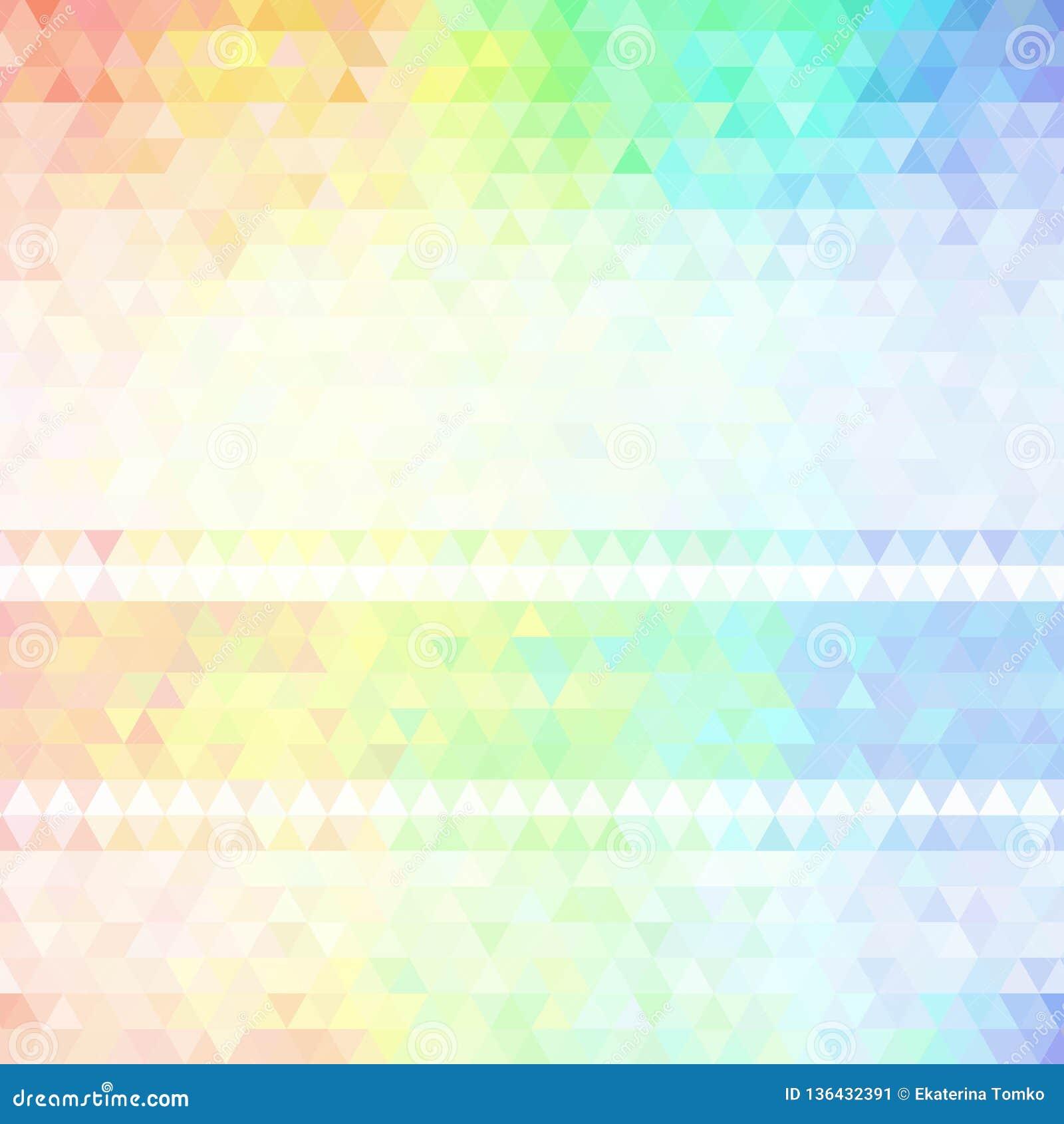 Абстрактная предпосылка состоя из треугольников 10 eps