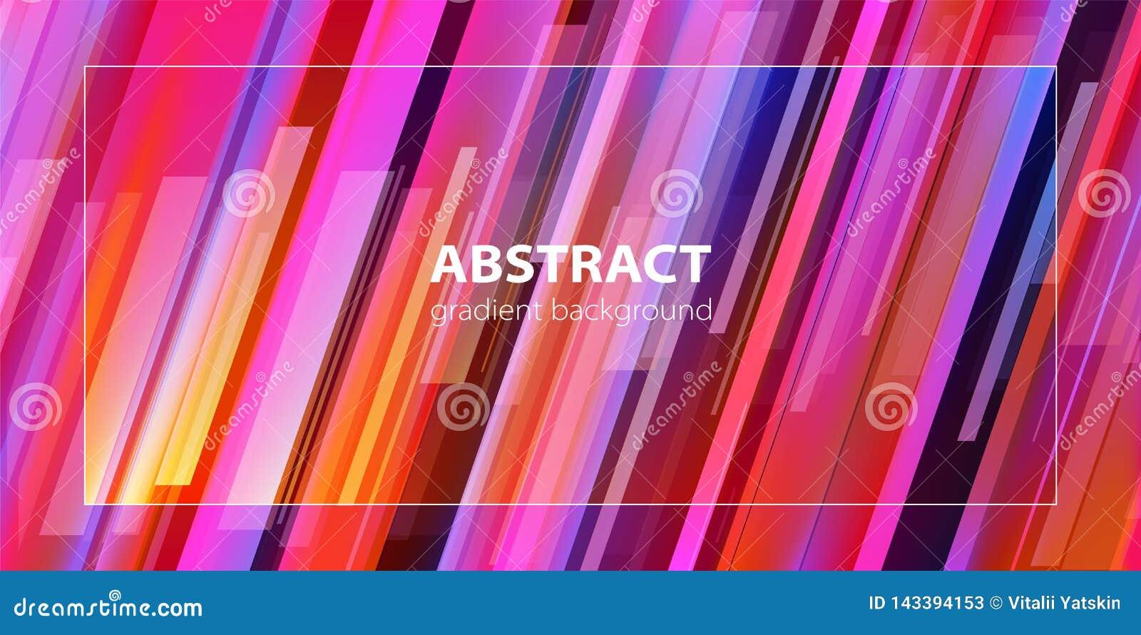 абстрактная предпосылка Ультрамодная линия состав градиента вектор