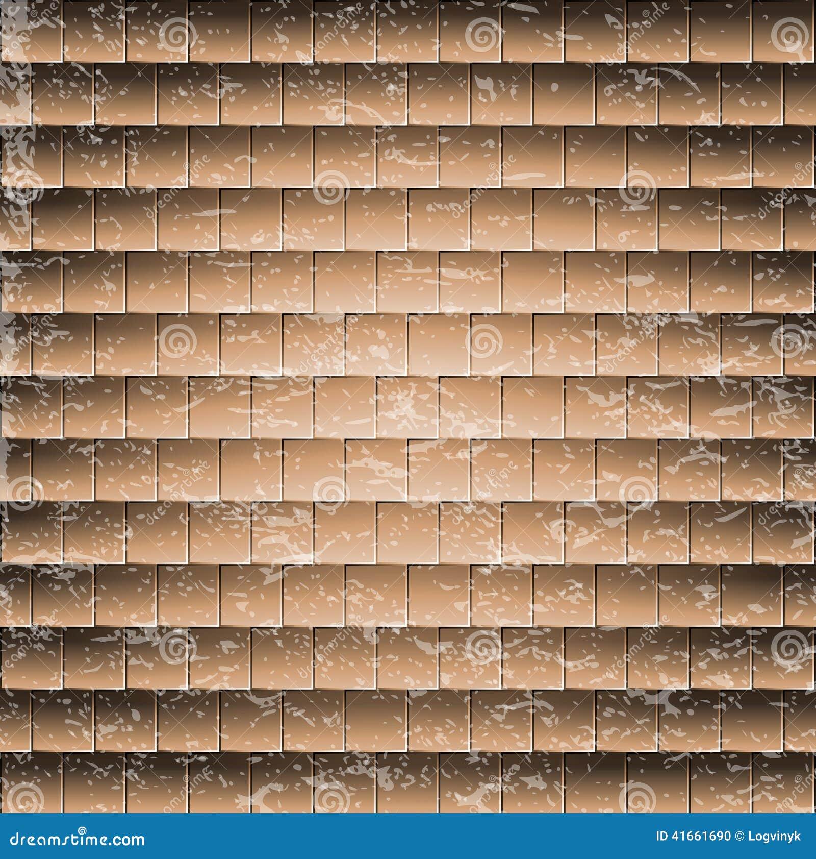 Абстрактная предпосылка кирпичной стены плитка иллюстрации