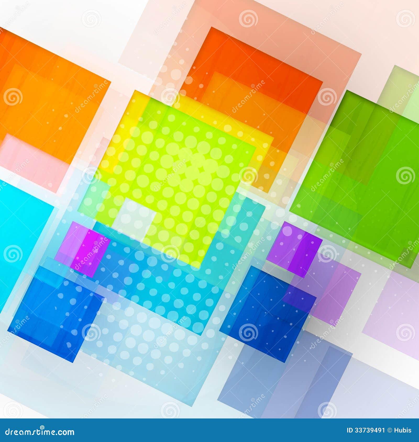 Абстрактная предпосылка куба 3d