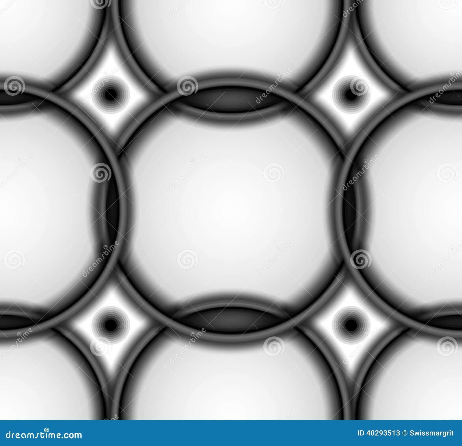 Абстрактная предпосылка плитки в черно-белом