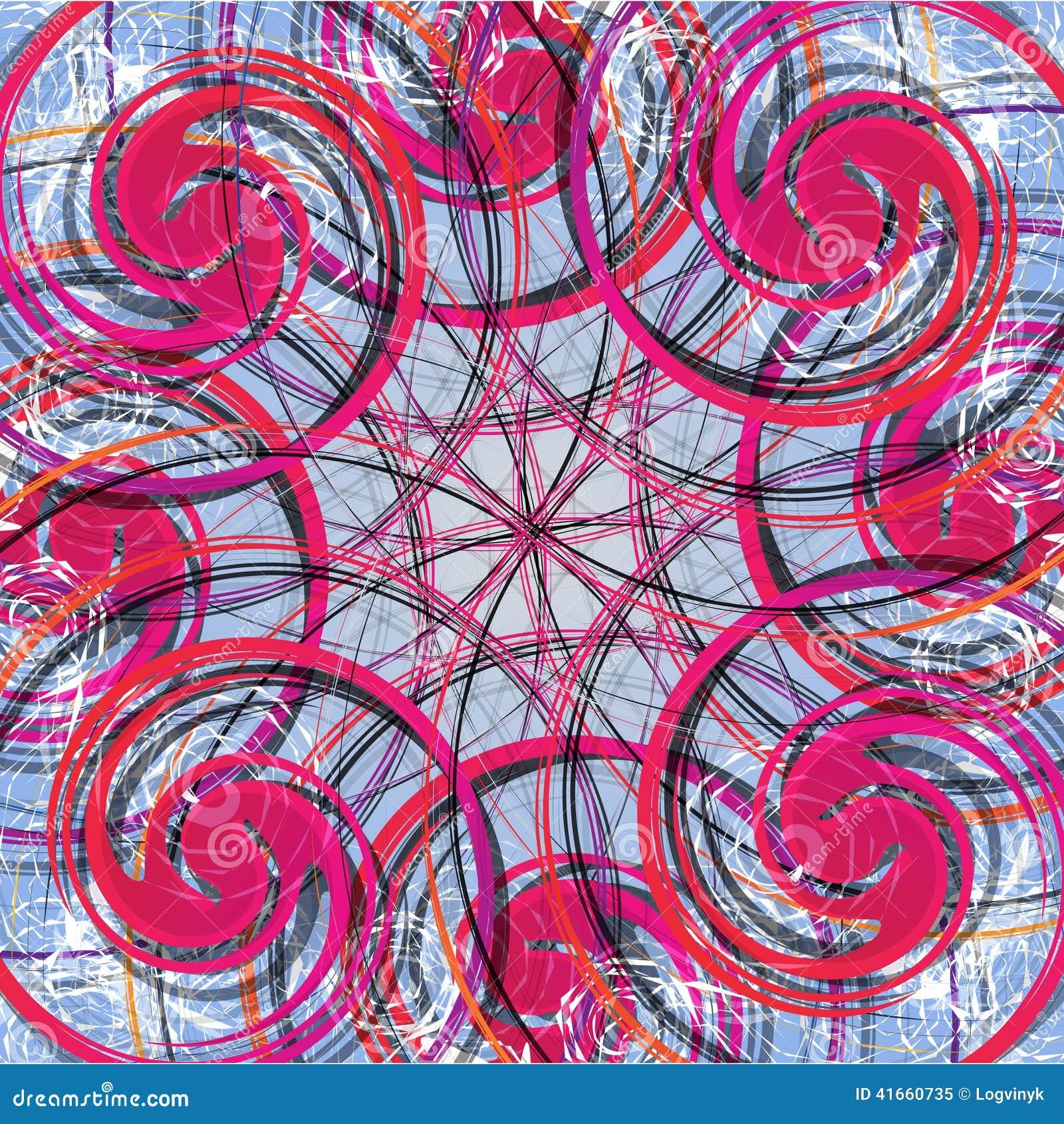абстрактная предпосылка цветастая Картина современного дизайна