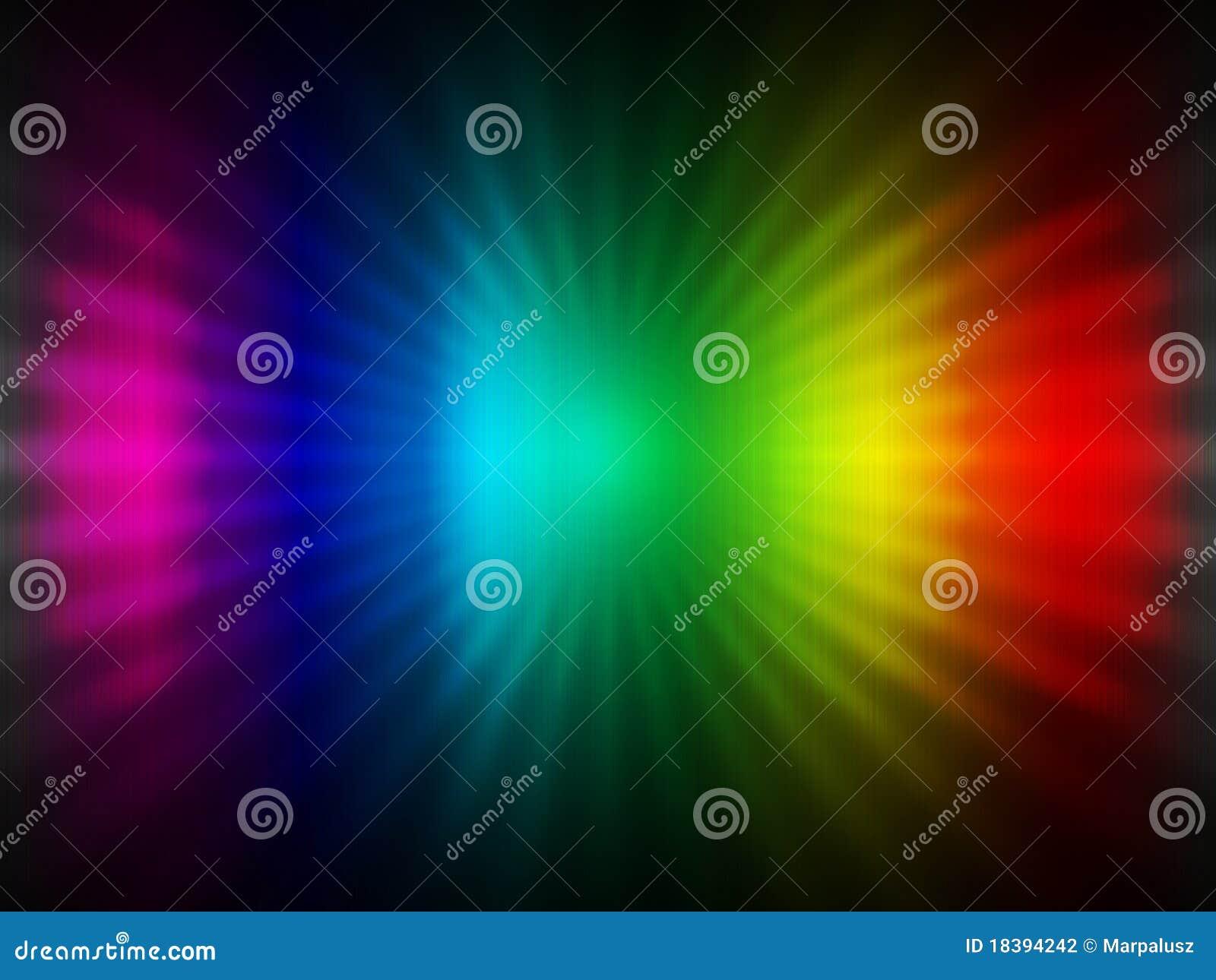 абстрактная радуга предпосылки