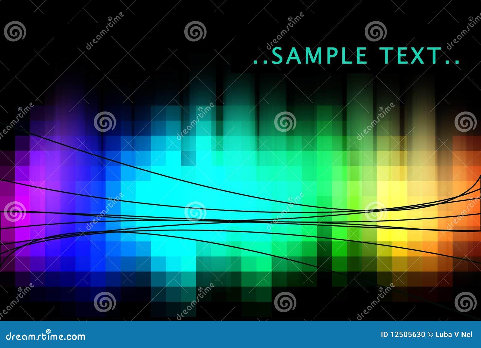 абстрактная радуга