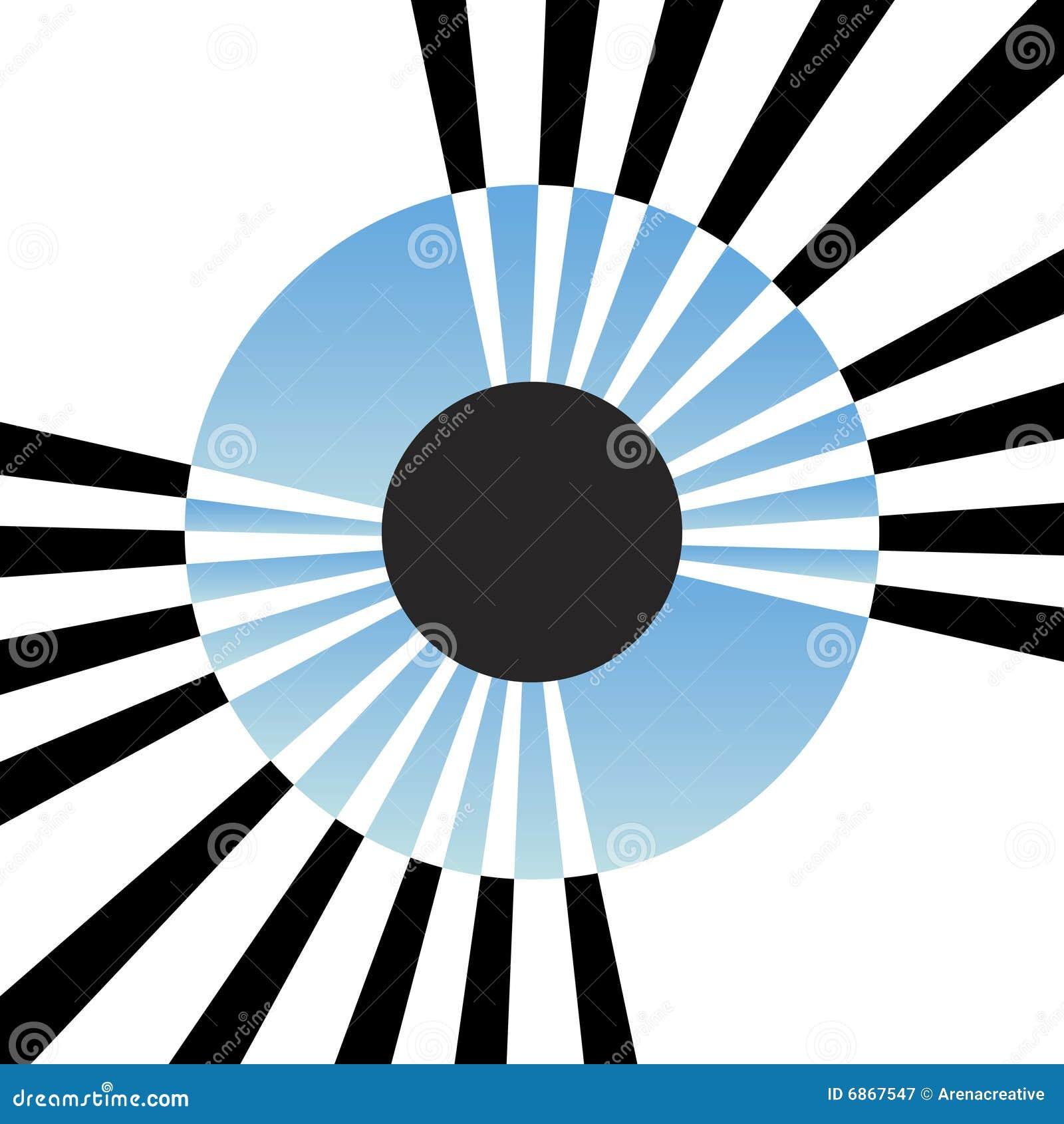 абстрактная радужка глаза