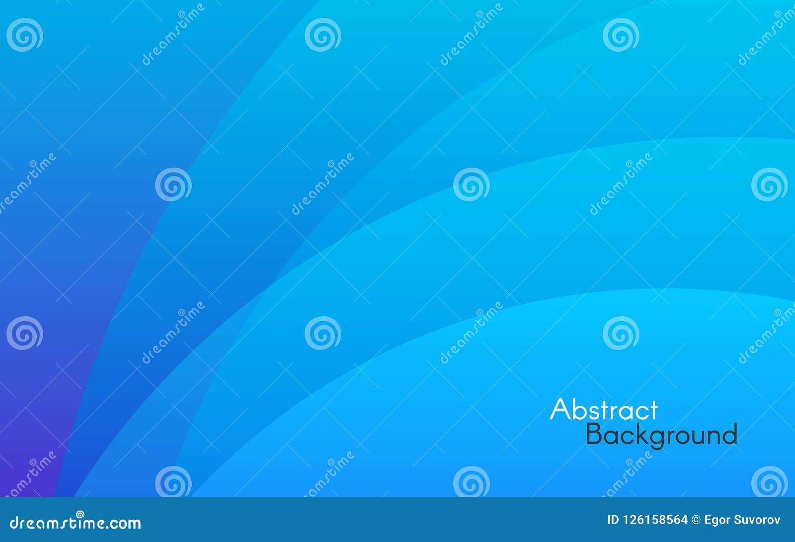 абстрактная синь предпосылки Простые линии и мягкий свет Минимальный фон для вебсайта шаблон ресторана конструкции принципиальной