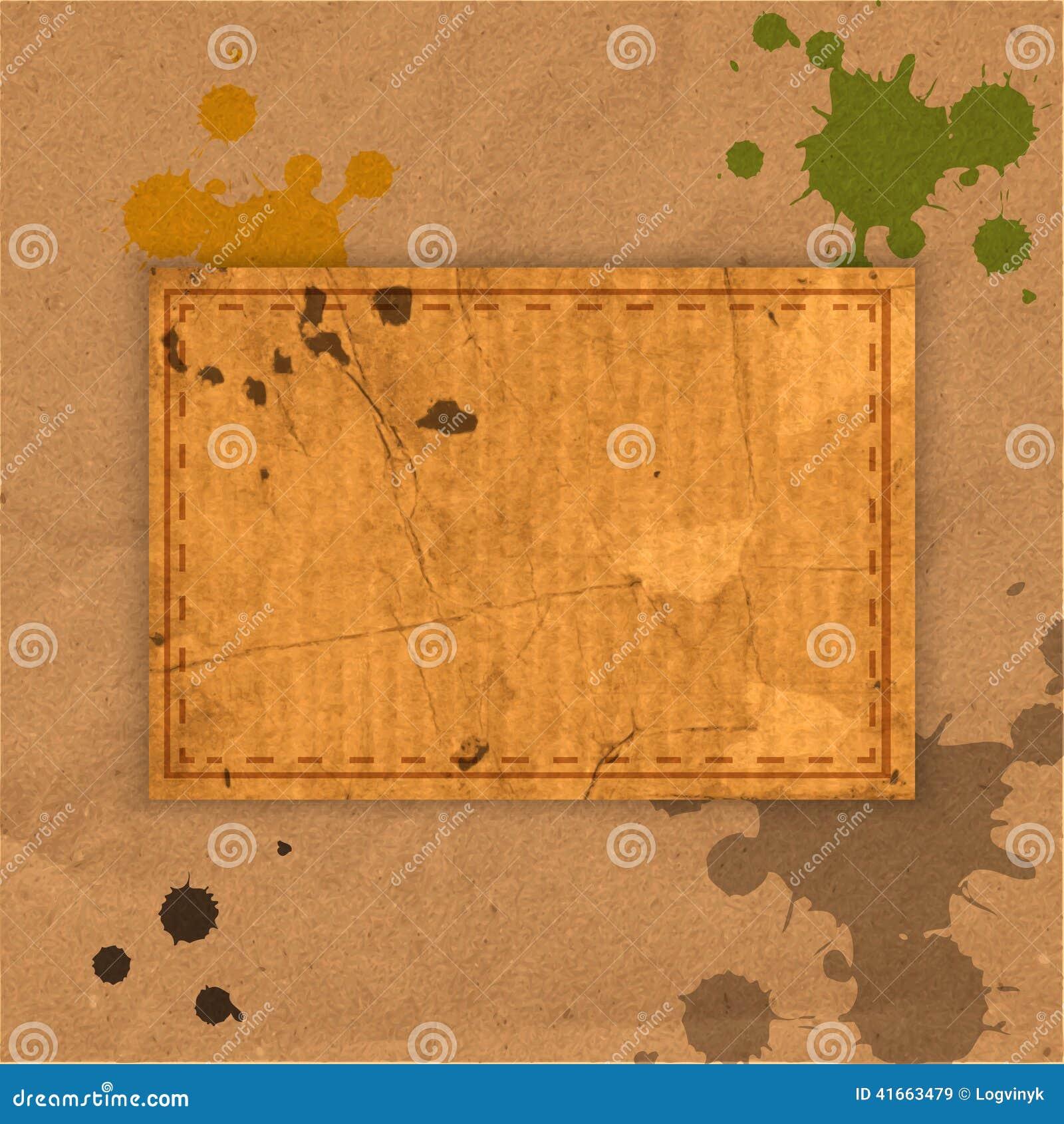 Абстрактная старая grungy бумажная предпосылка