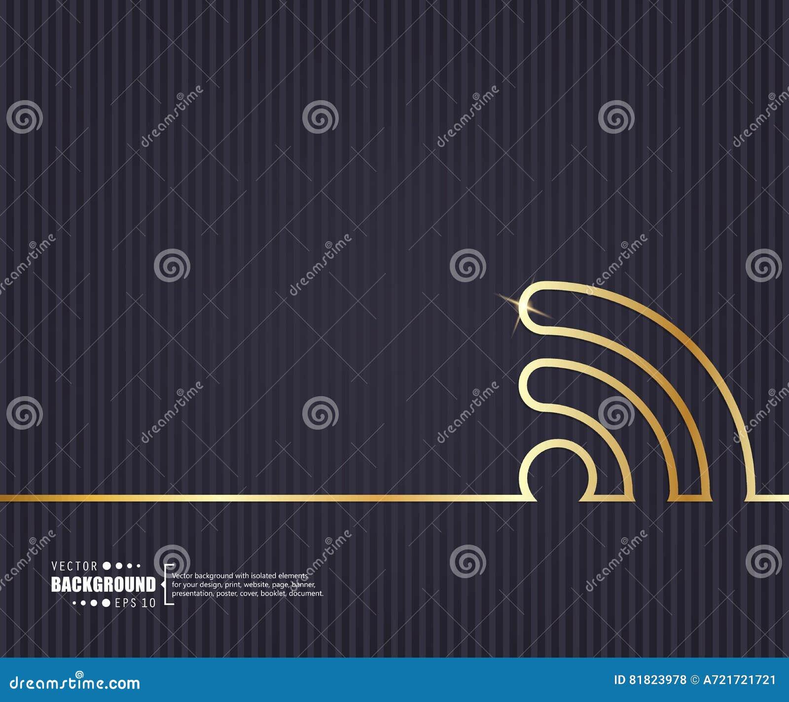 Абстрактная творческая предпосылка вектора концепции Для сети и передвижных применений, дизайн шаблона иллюстрации, дело