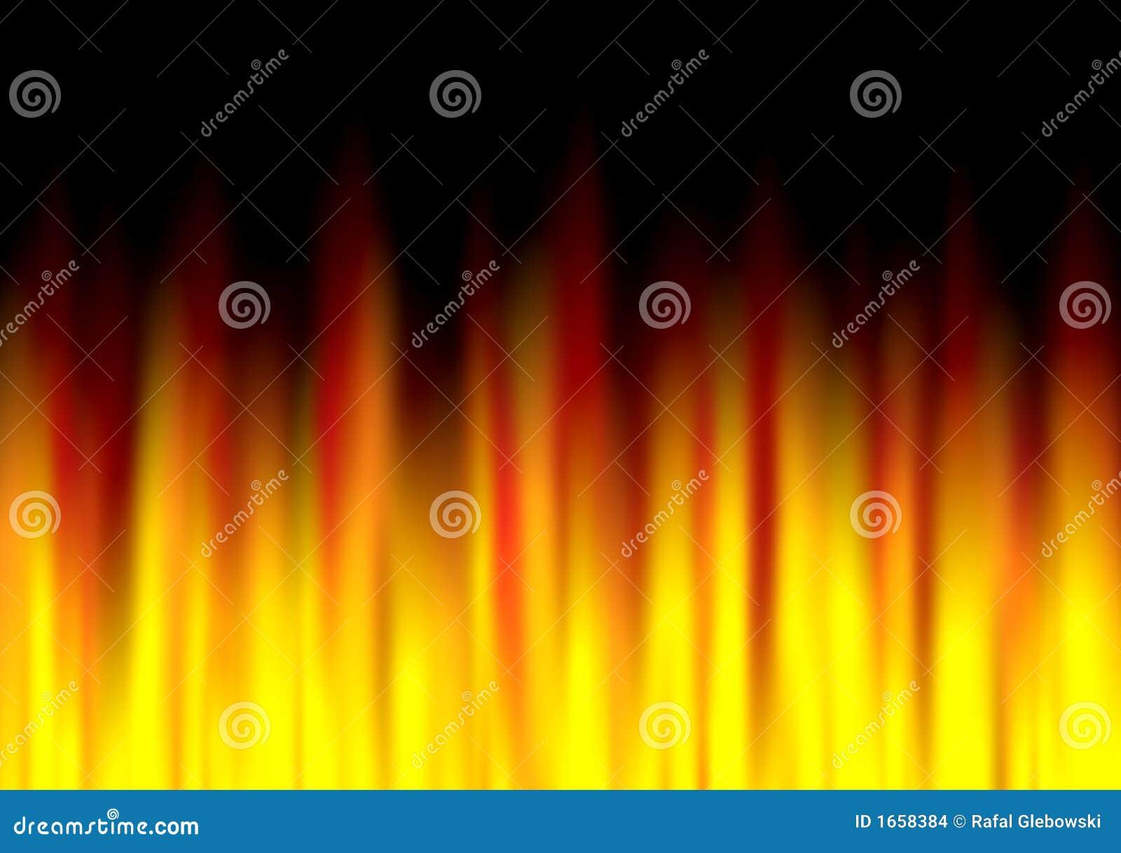 абстрактная текстура пожара