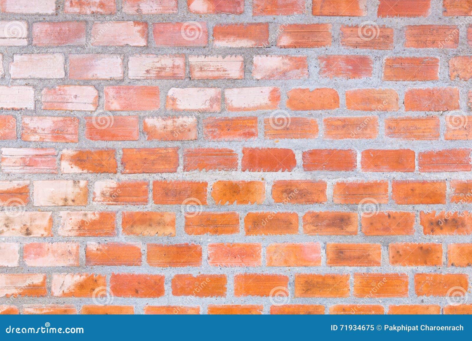 Абстрактная текстура предпосылки кирпичной стены цемента