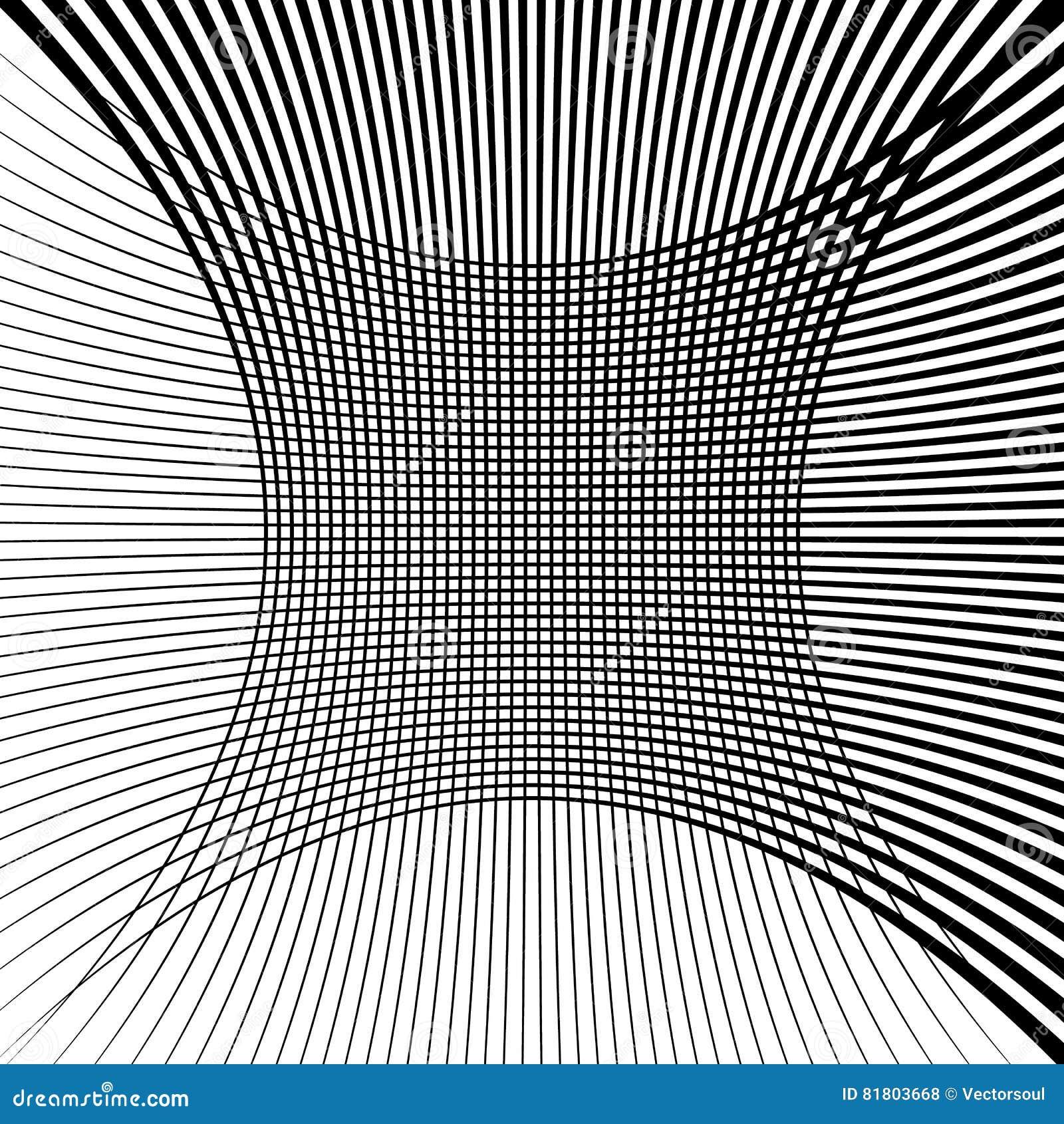 Абстрактная текстура решетки с эффектом искажения