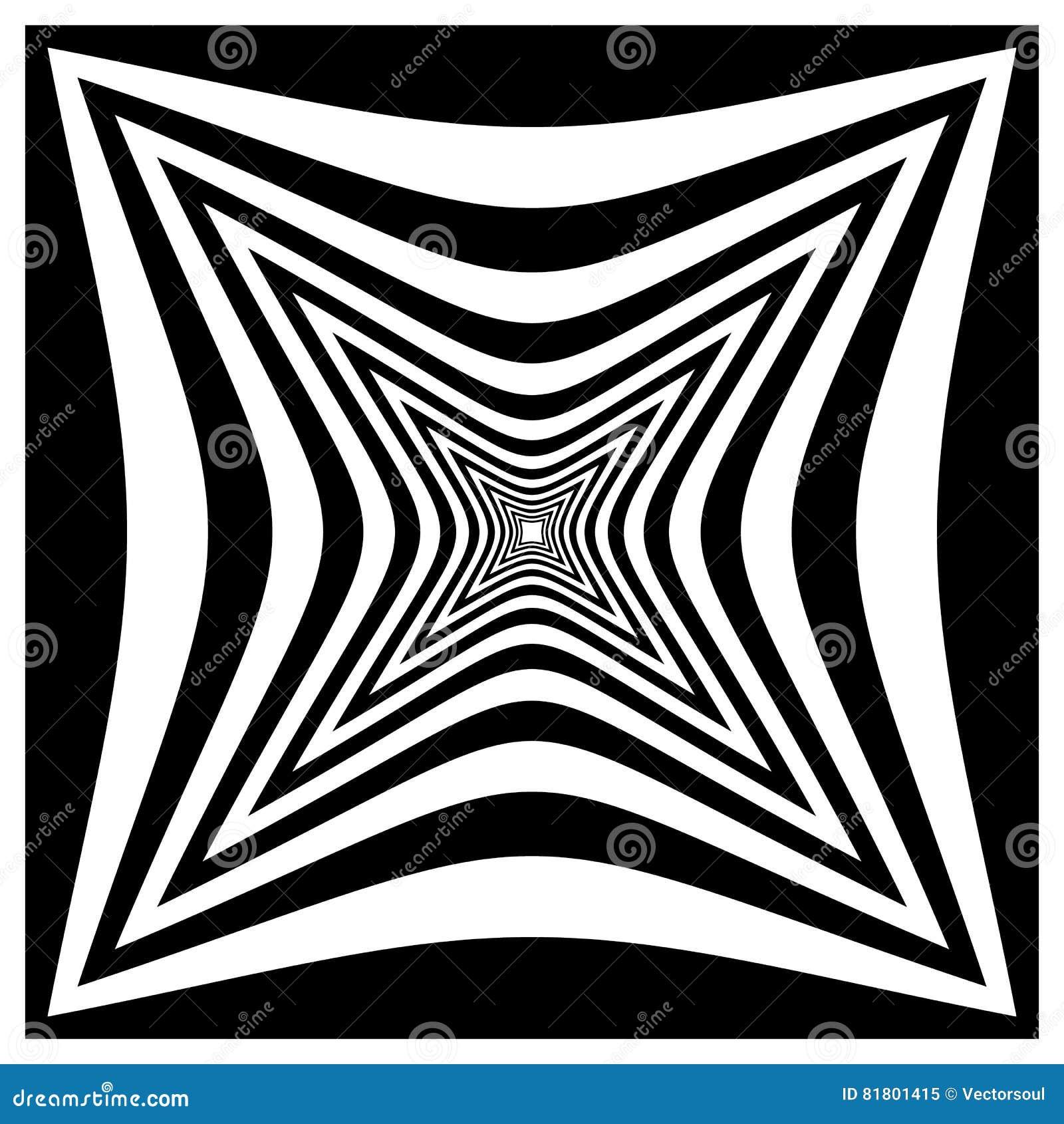 Абстрактная contrasty передернутая форма