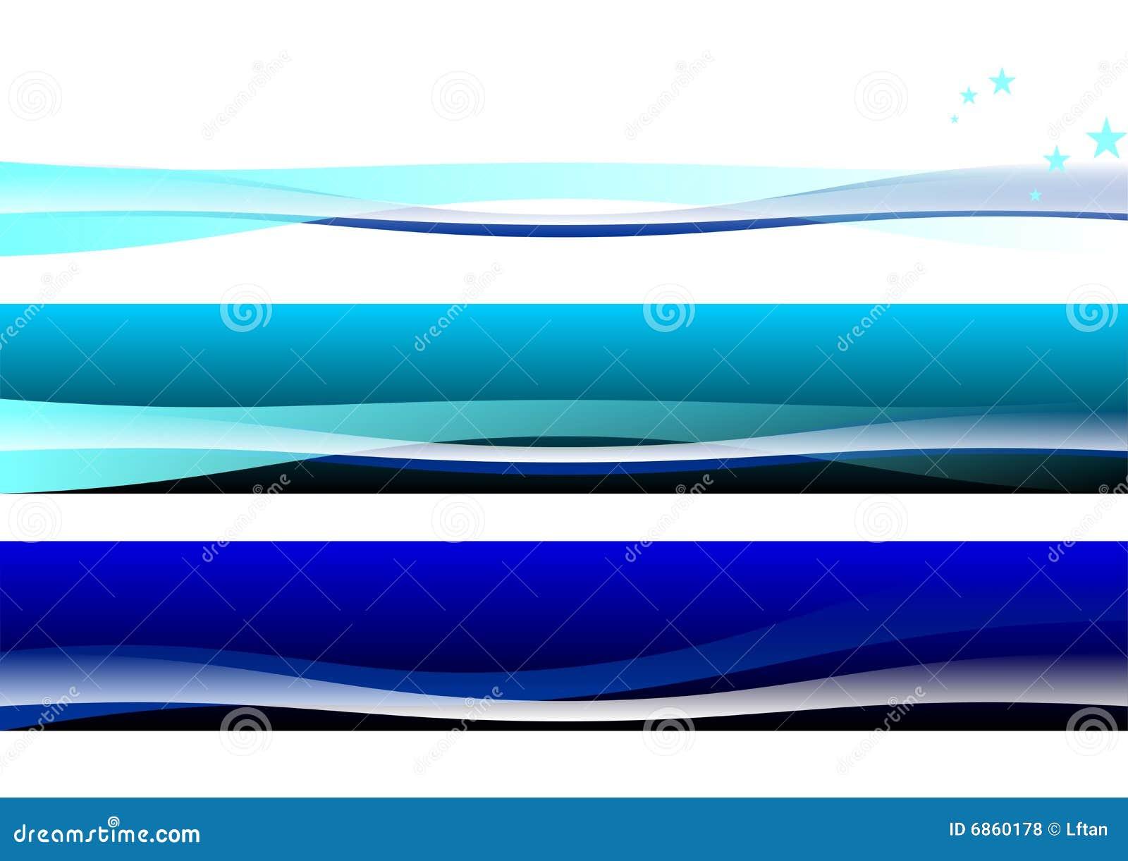 абстрактное знамя предпосылки