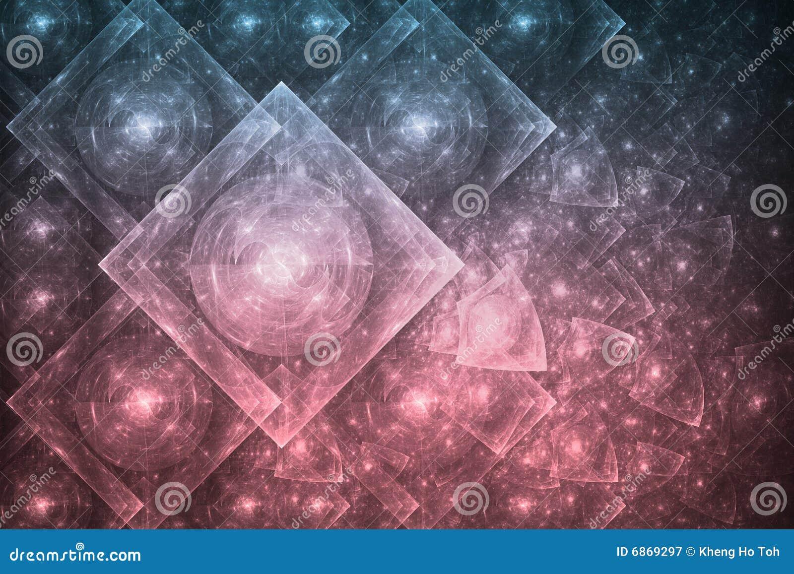 абстрактное кристаллическое образование