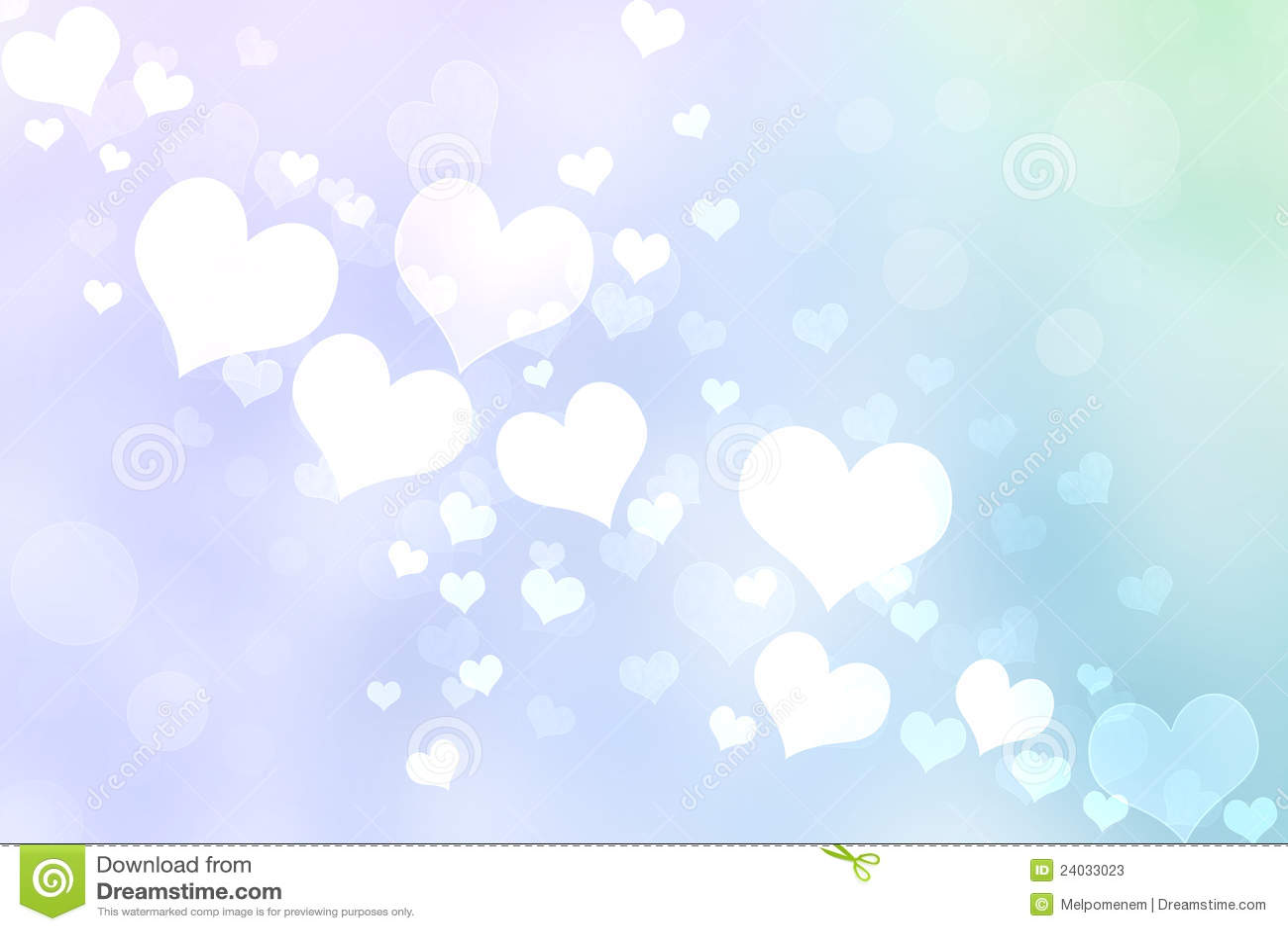 Абстрактное сердце освещает предпосылку
