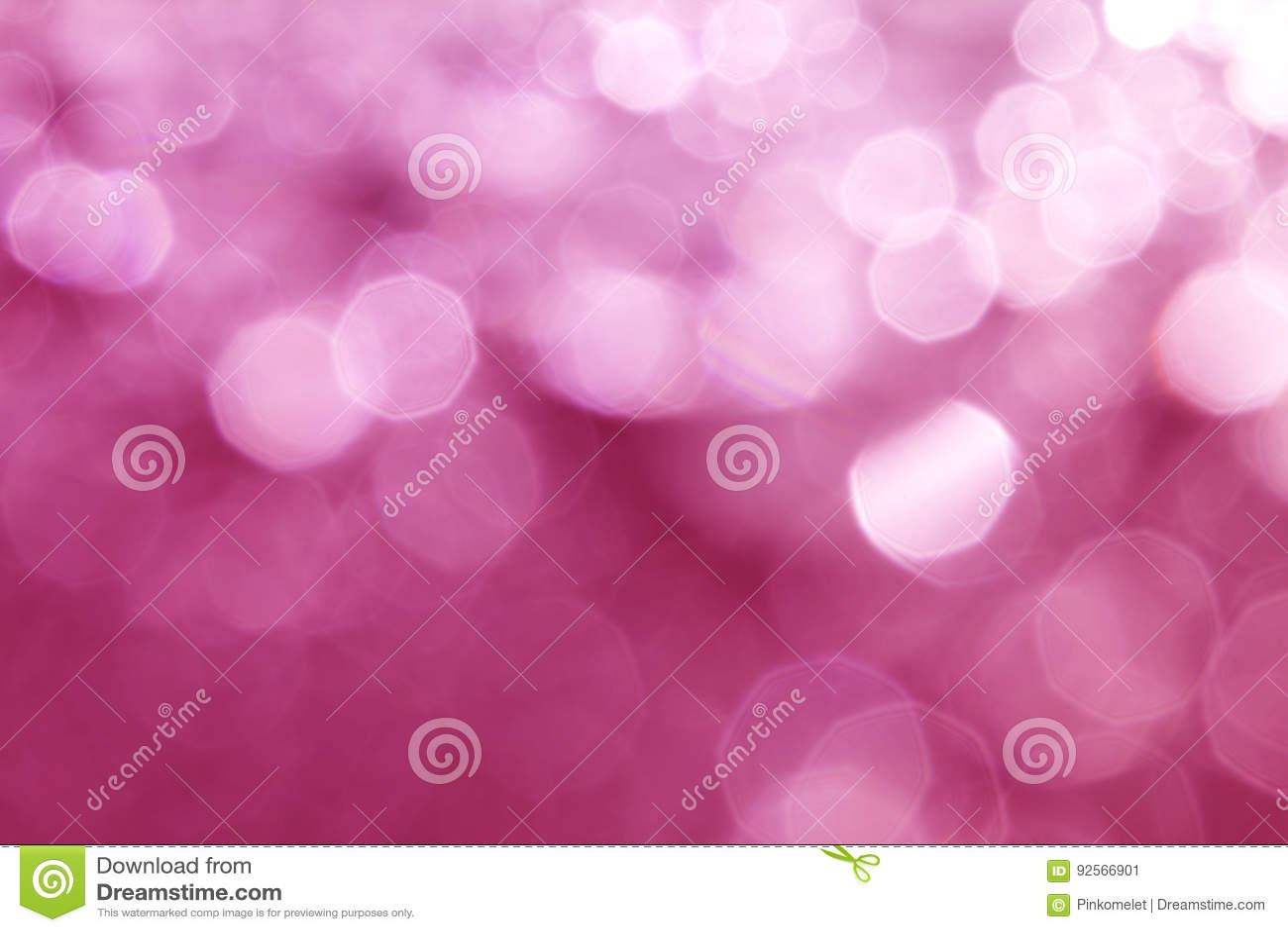 Абстрактное сладостное розовое элегантное освещение bokeh для рождества или hol
