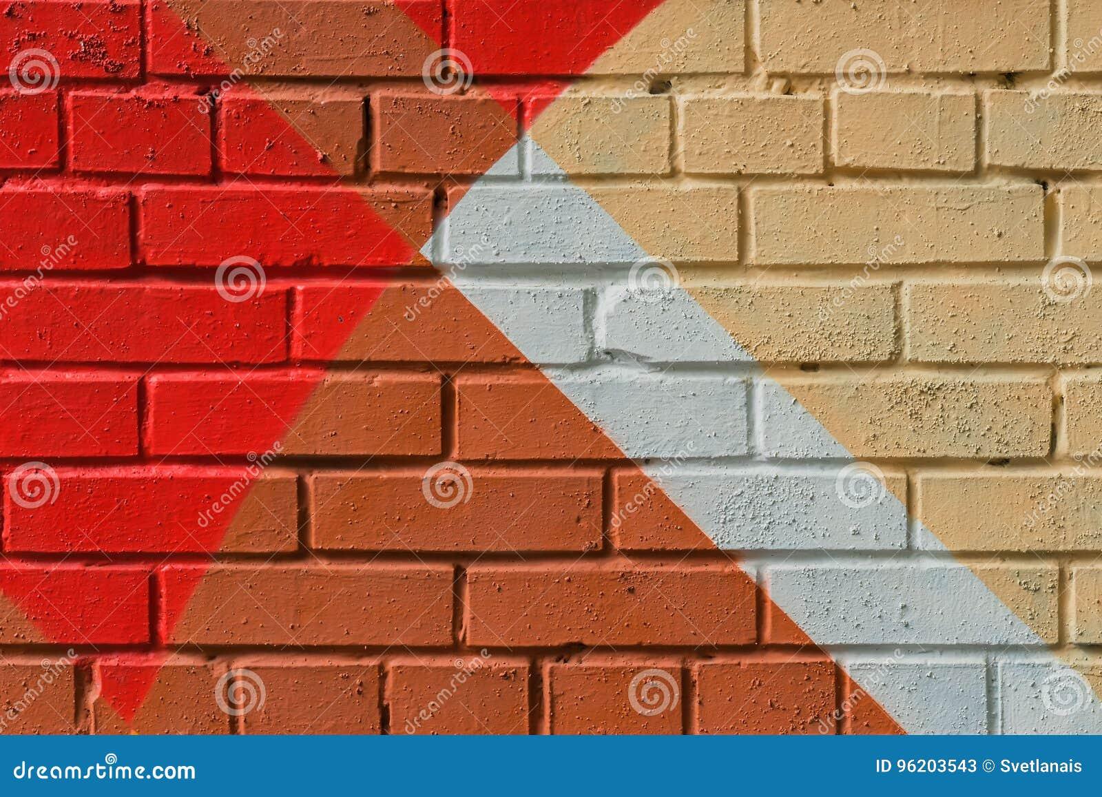 Абстрактные граффити на стене, очень малая деталь Конец-вверх искусства улицы, стильная картина Смогите быть полезный для предпос