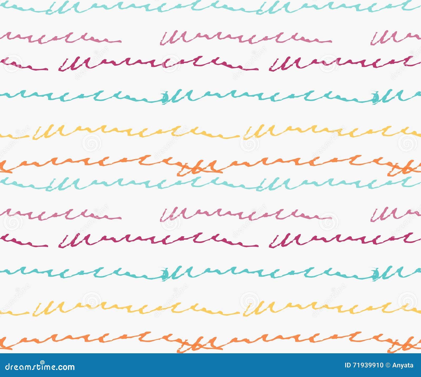 Абстрактные зеленые и желтые scribbles